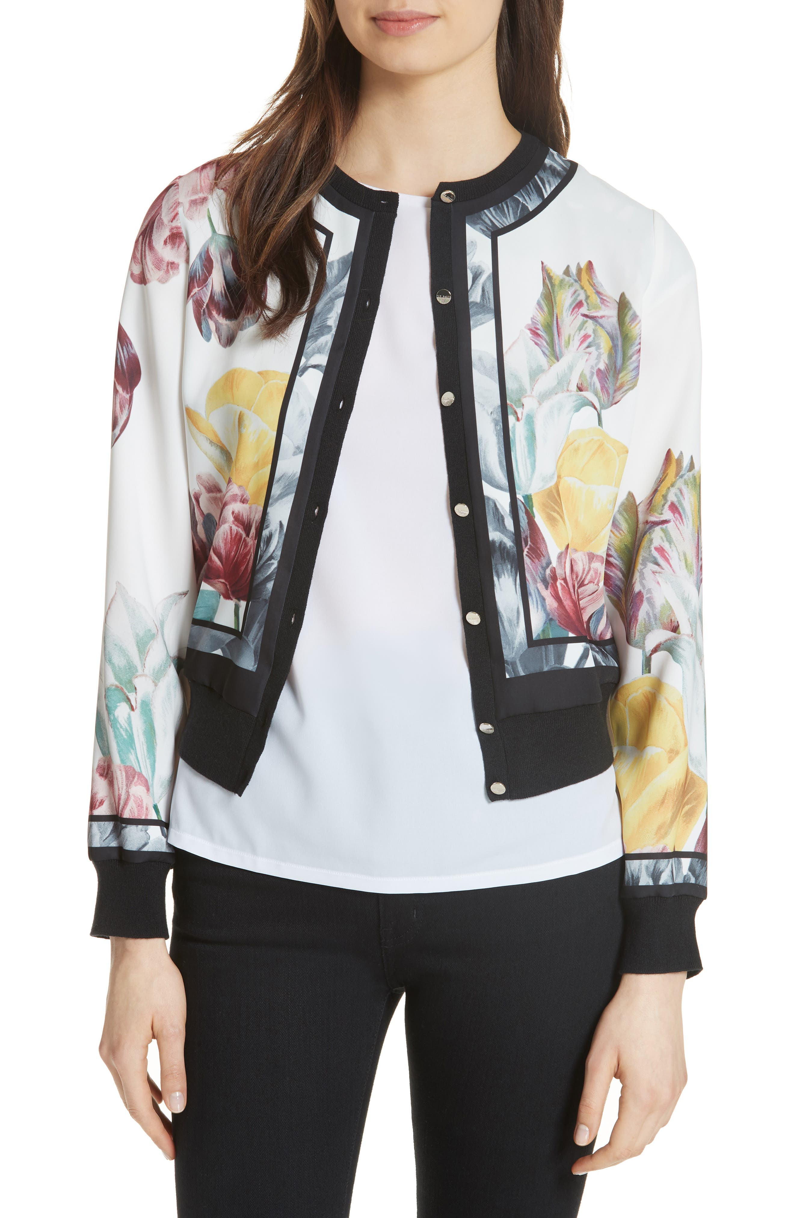 Olyviaa Tranquility Woven Jacket,                             Main thumbnail 1, color,                             WHITE
