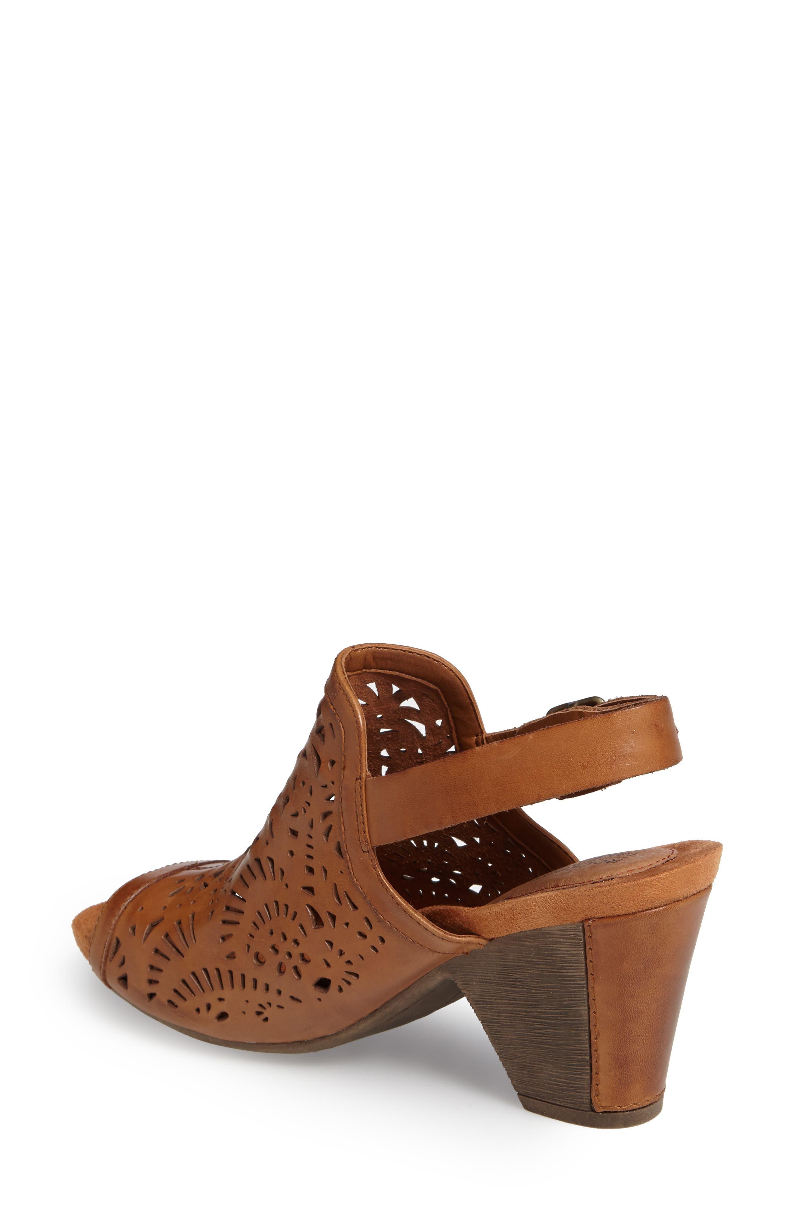 Tropez Block Heel Sandal,                             Alternate thumbnail 7, color,