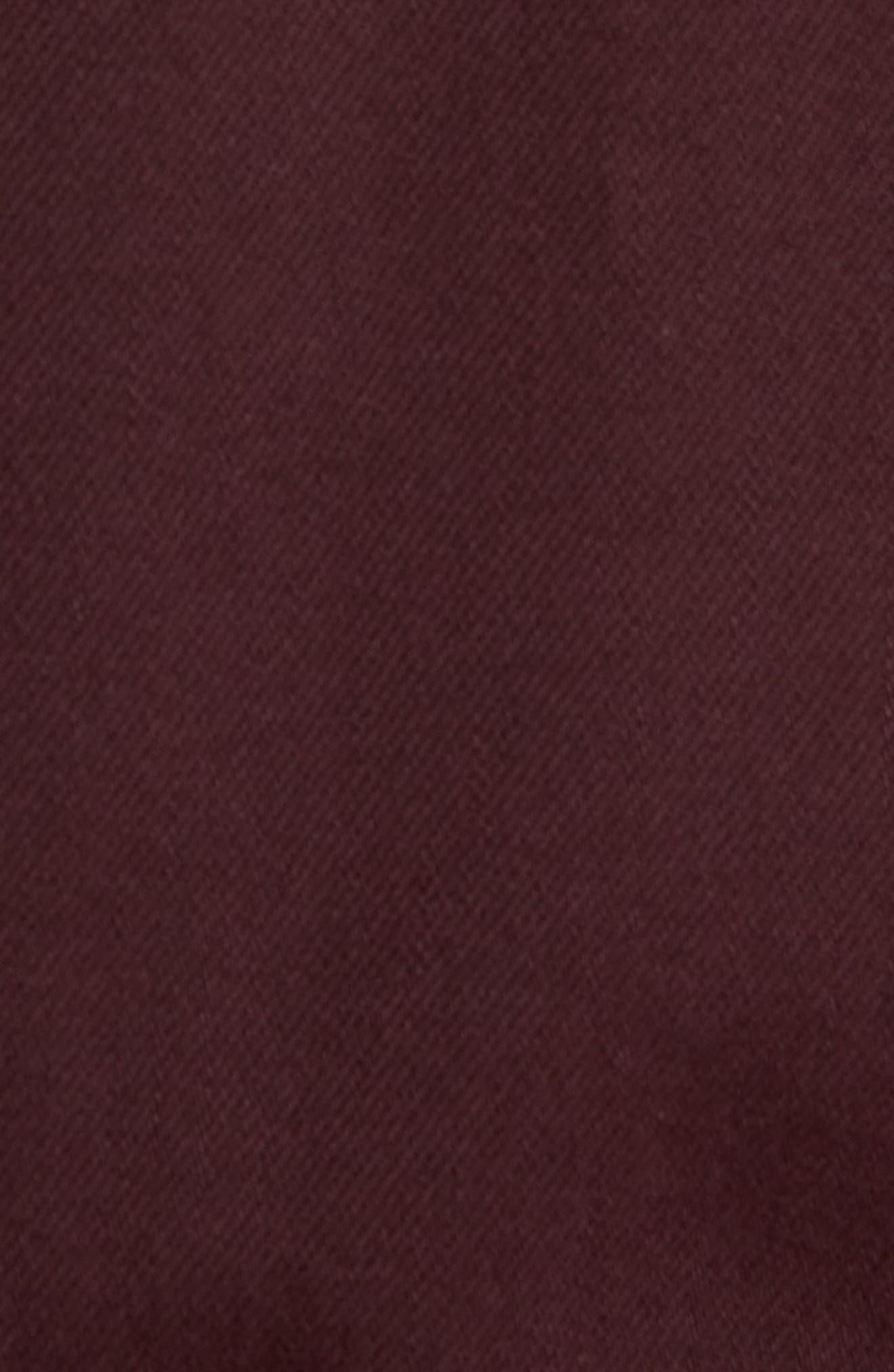 Scout Denim Jacket,                             Alternate thumbnail 6, color,                             VINTAGE AUBERGINE