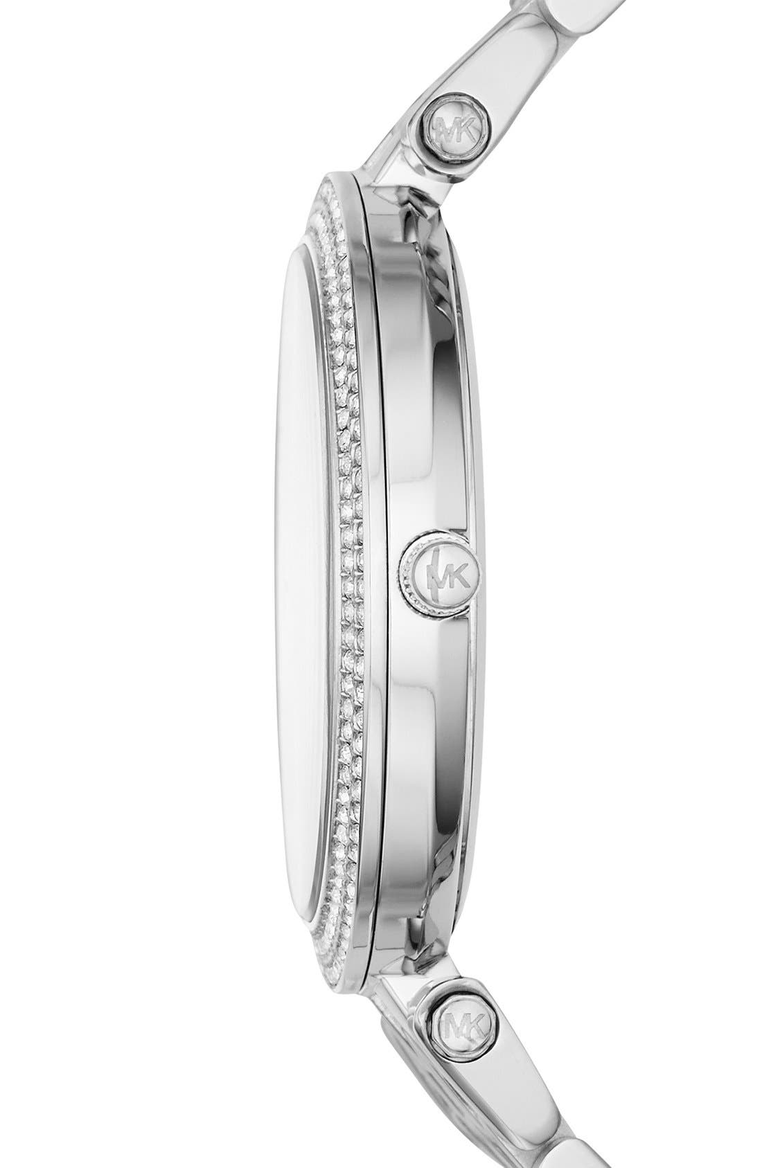 'Darci' Round Bracelet Watch, 39mm,                             Alternate thumbnail 28, color,