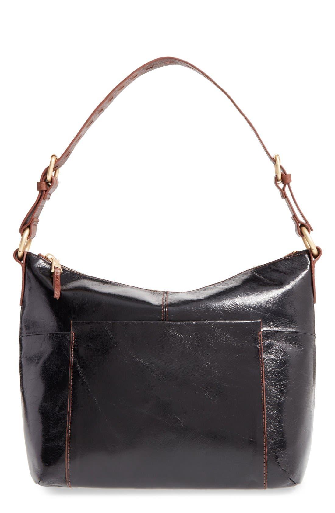 Charlie Shoulder Bag,                             Main thumbnail 1, color,                             BLACK
