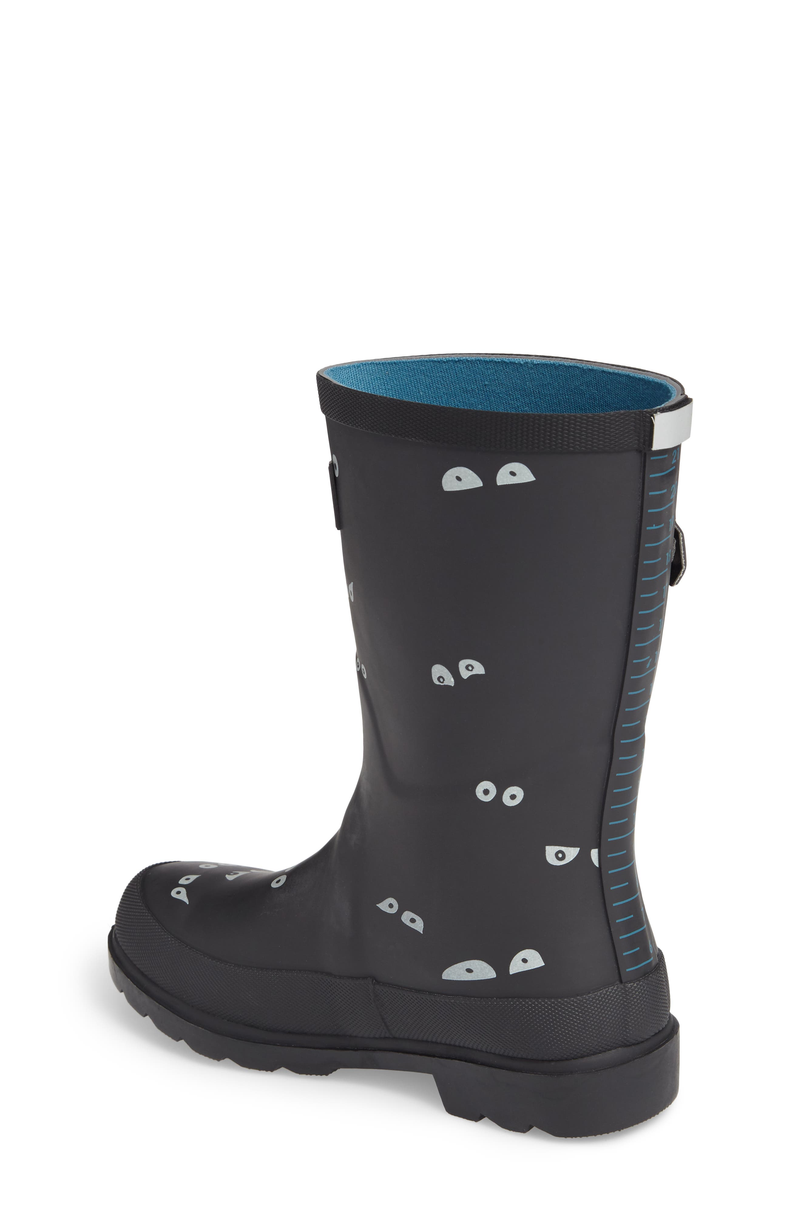 Printed Waterproof Rain Boot,                             Alternate thumbnail 2, color,                             001