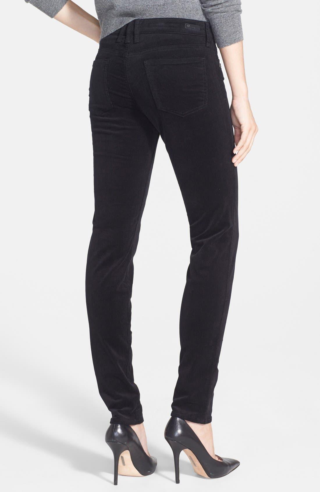 'Diana' Stretch Corduroy Skinny Pants,                             Alternate thumbnail 70, color,