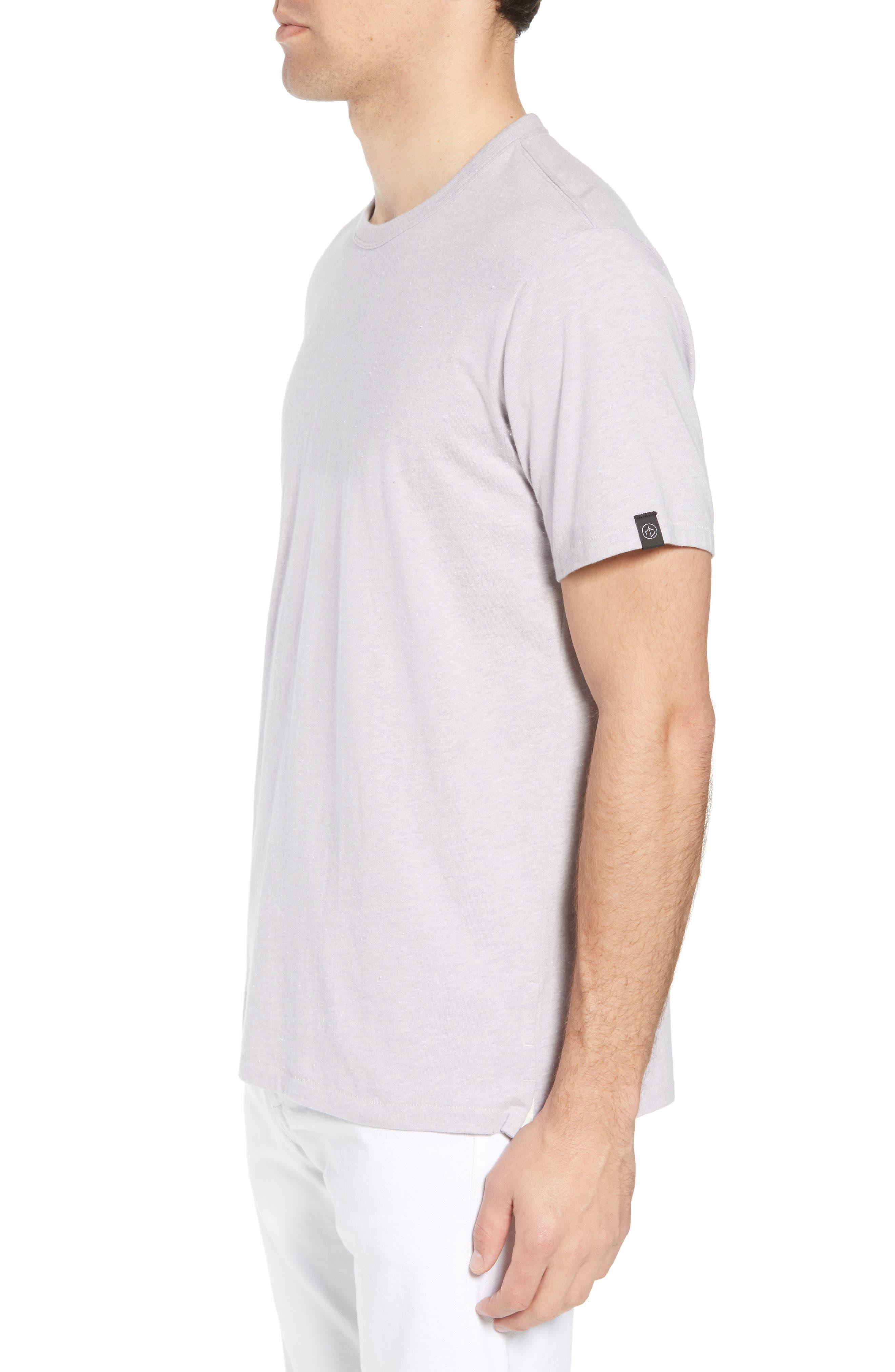 James Crewneck T-Shirt,                             Alternate thumbnail 3, color,                             525