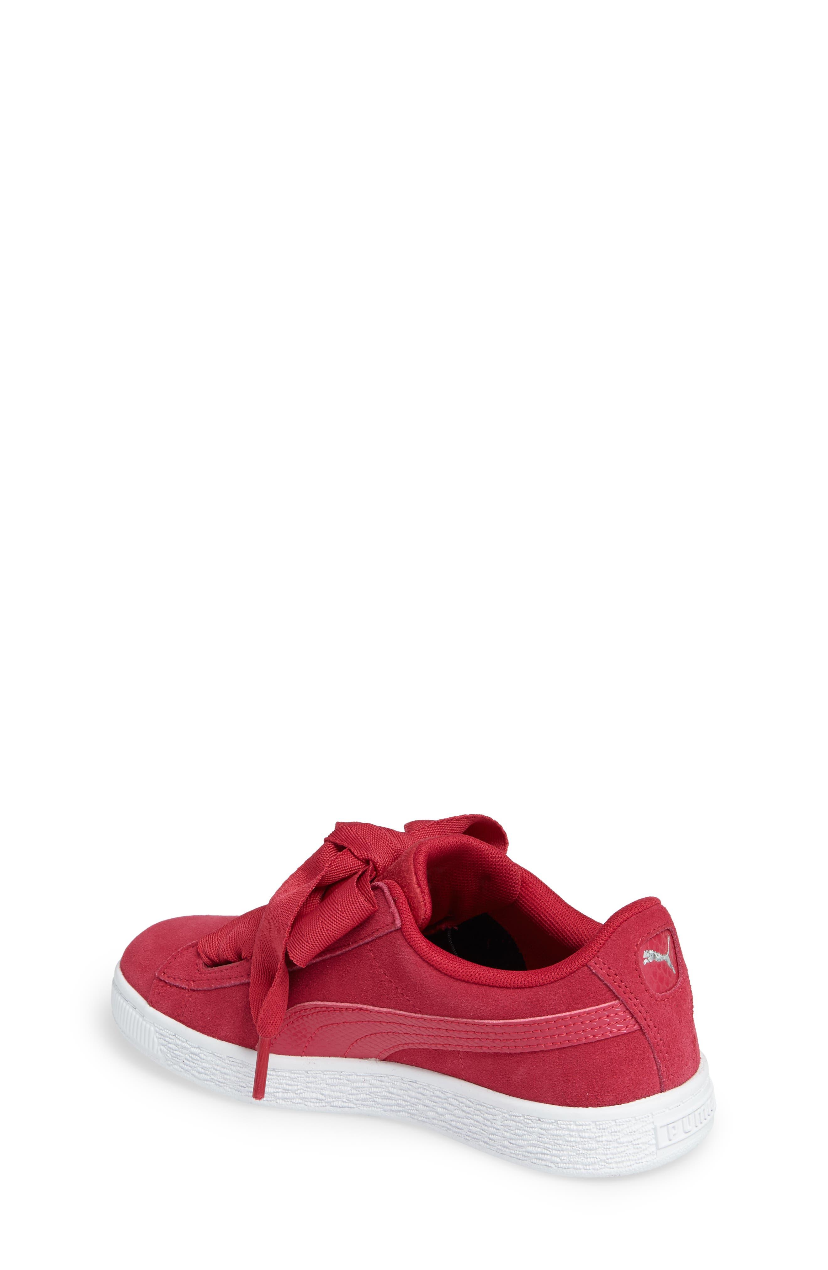 Basket Heart Sneaker,                             Alternate thumbnail 6, color,