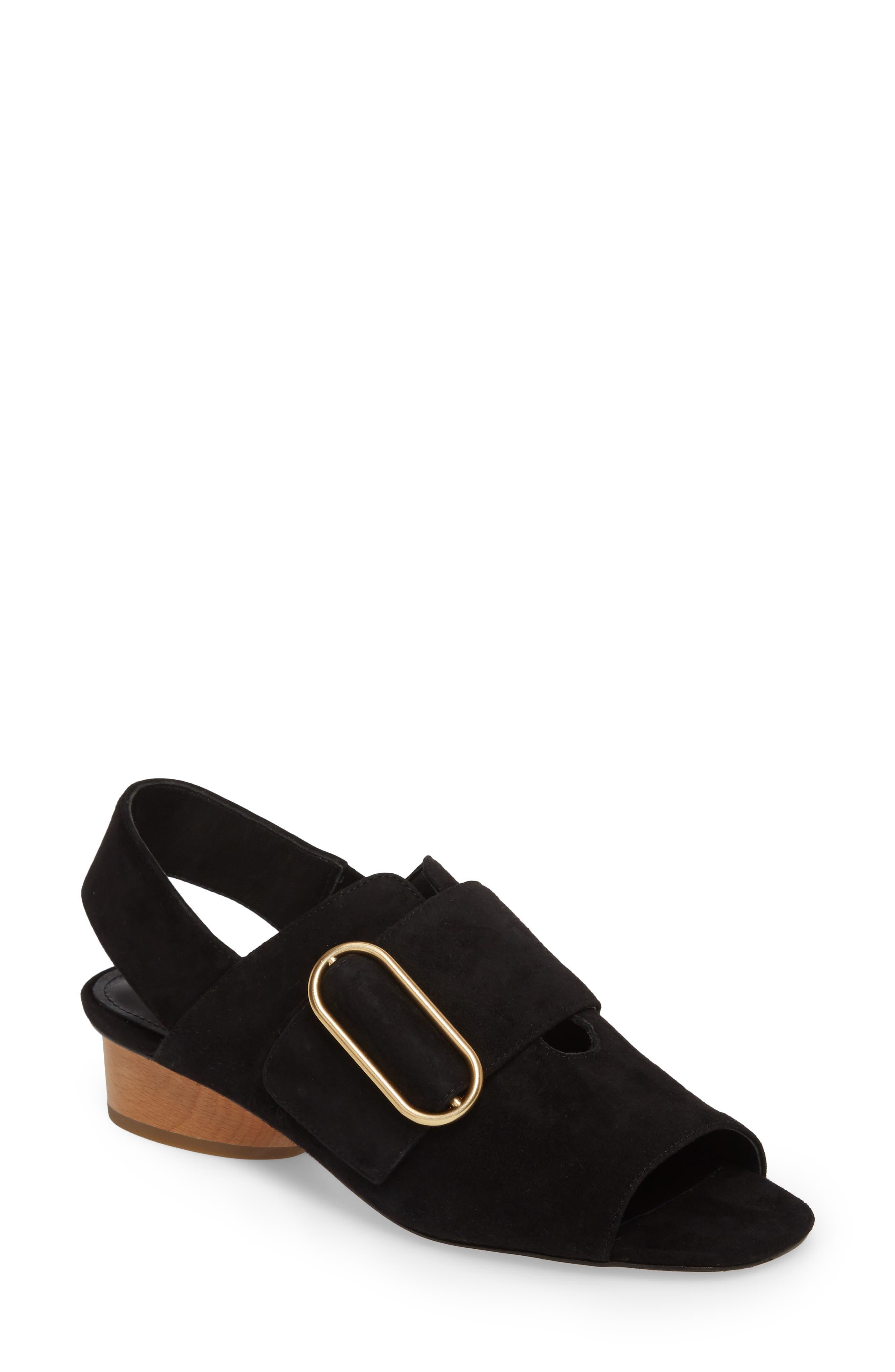 Randi Slingback Sandal,                         Main,                         color, 001