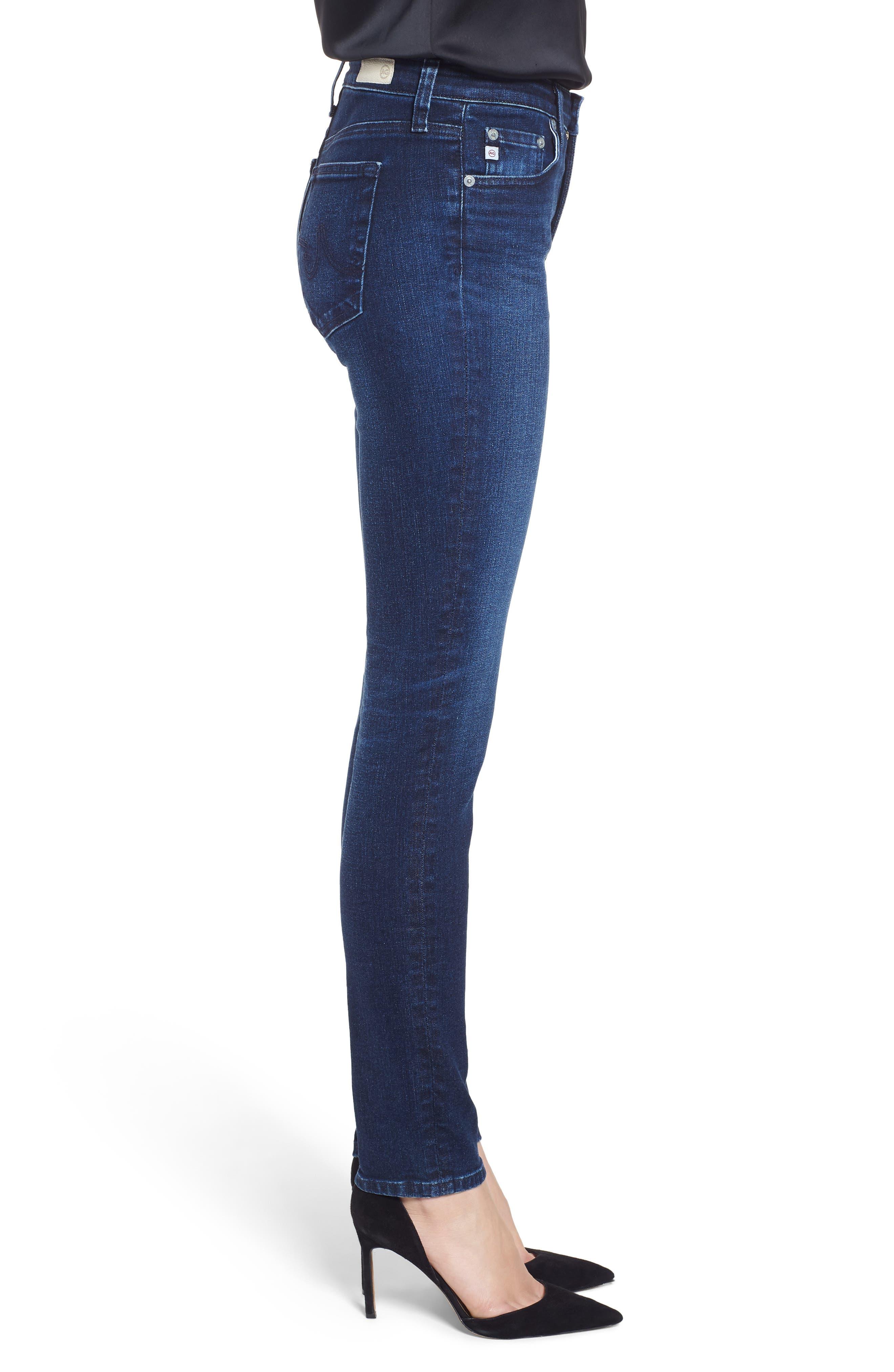 Prima Skinny Jeans,                             Alternate thumbnail 3, color,                             416