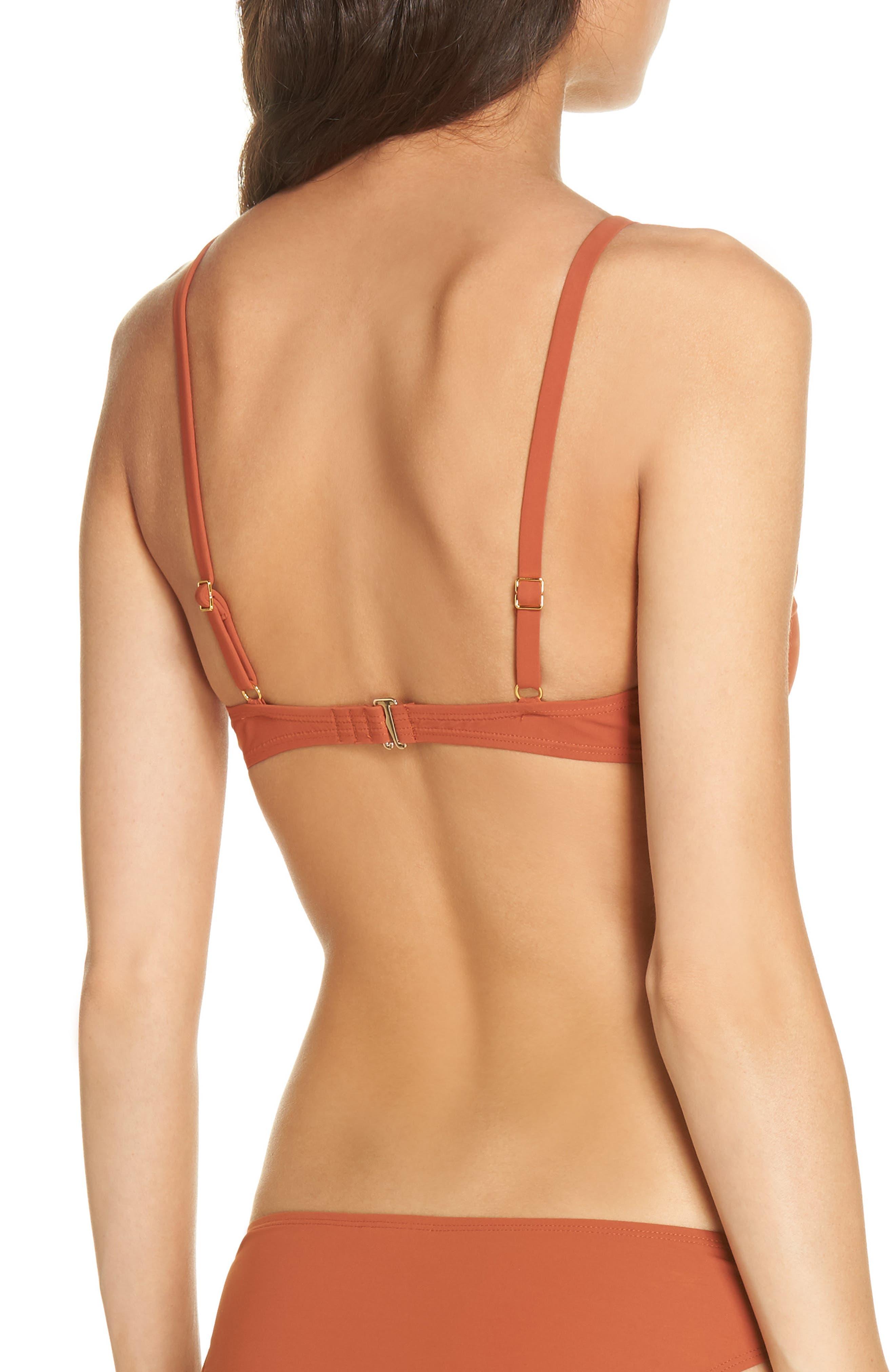 Palma Bikini Top,                             Alternate thumbnail 2, color,                             DESERT SPICE