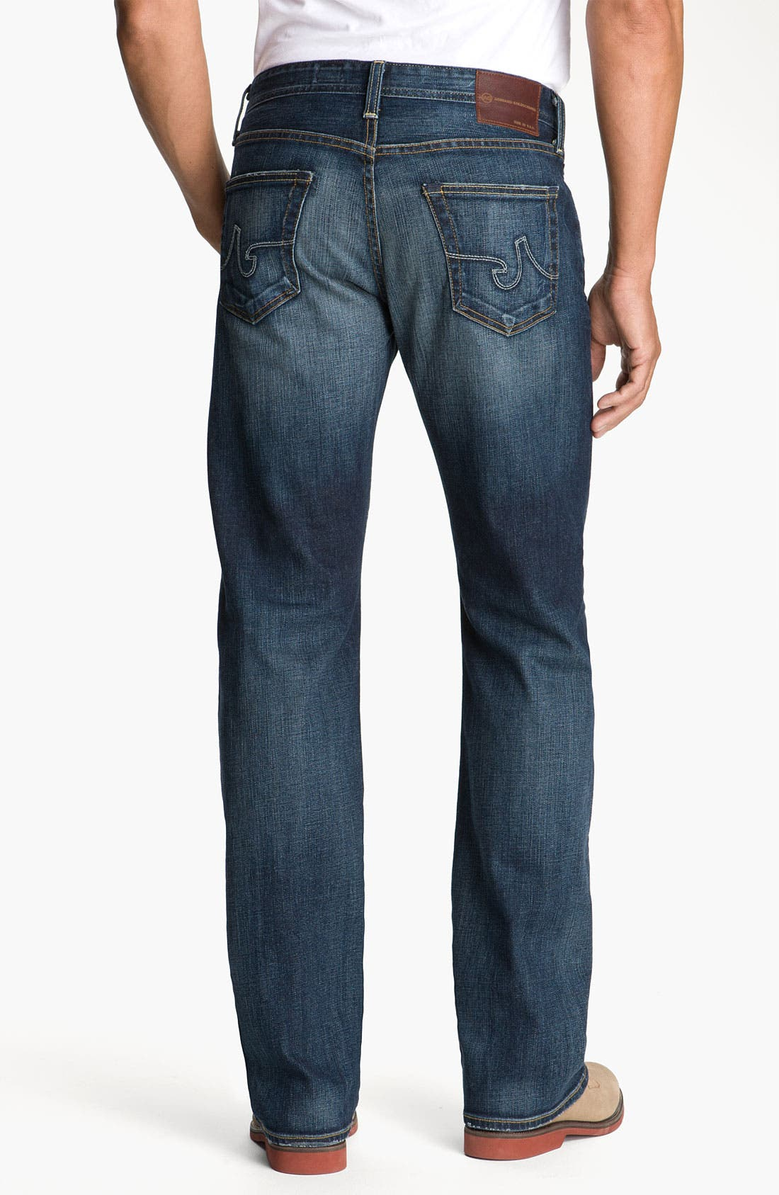 AG,                             Jeans 'Hero' Relaxed Fit Jeans,                             Alternate thumbnail 4, color,                             420