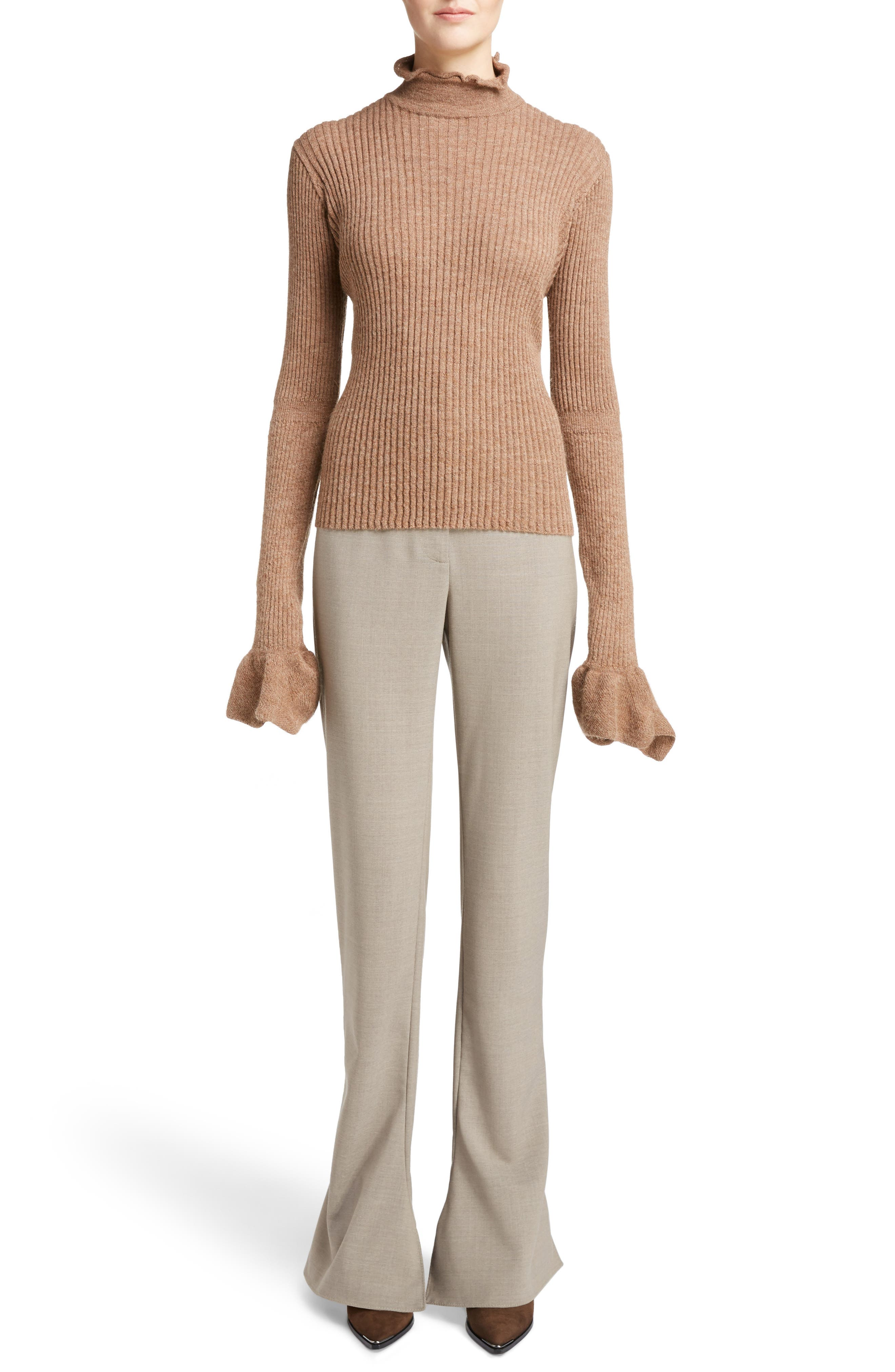 Fhira Hairy Oversize Sweater,                             Main thumbnail 1, color,                             415