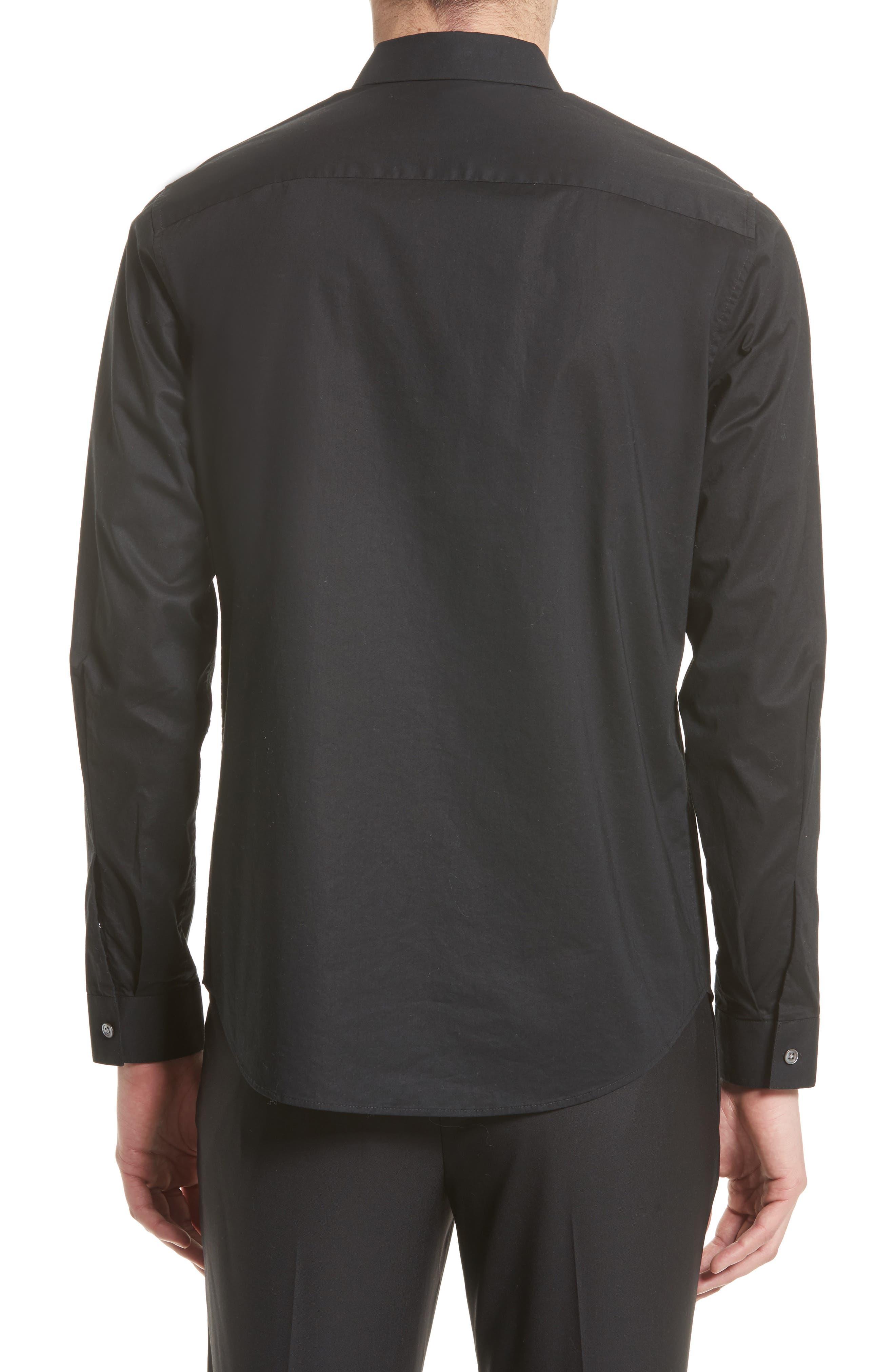Cotton Dress Shirt,                             Alternate thumbnail 3, color,