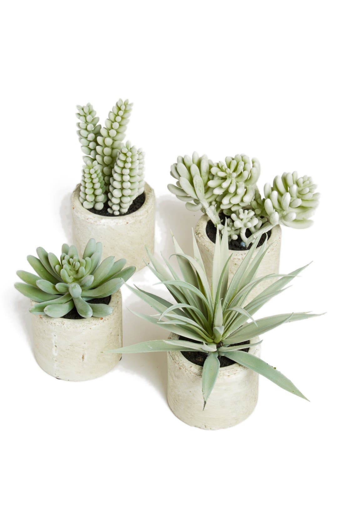 Mini Artificial Succulent,                             Alternate thumbnail 4, color,                             304