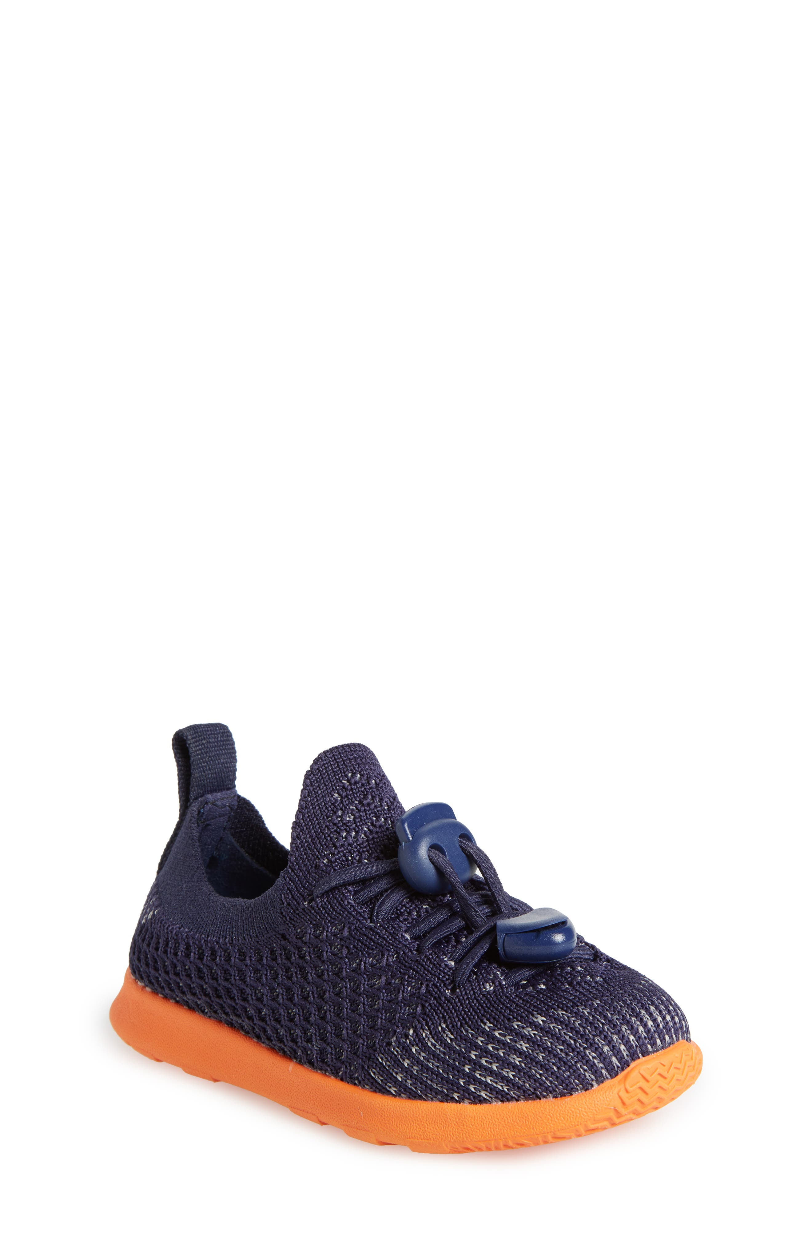 AP Mercury LiteKnit Sneaker,                             Main thumbnail 1, color,                             REGATTA BLUE/ SUNSET ORANGE