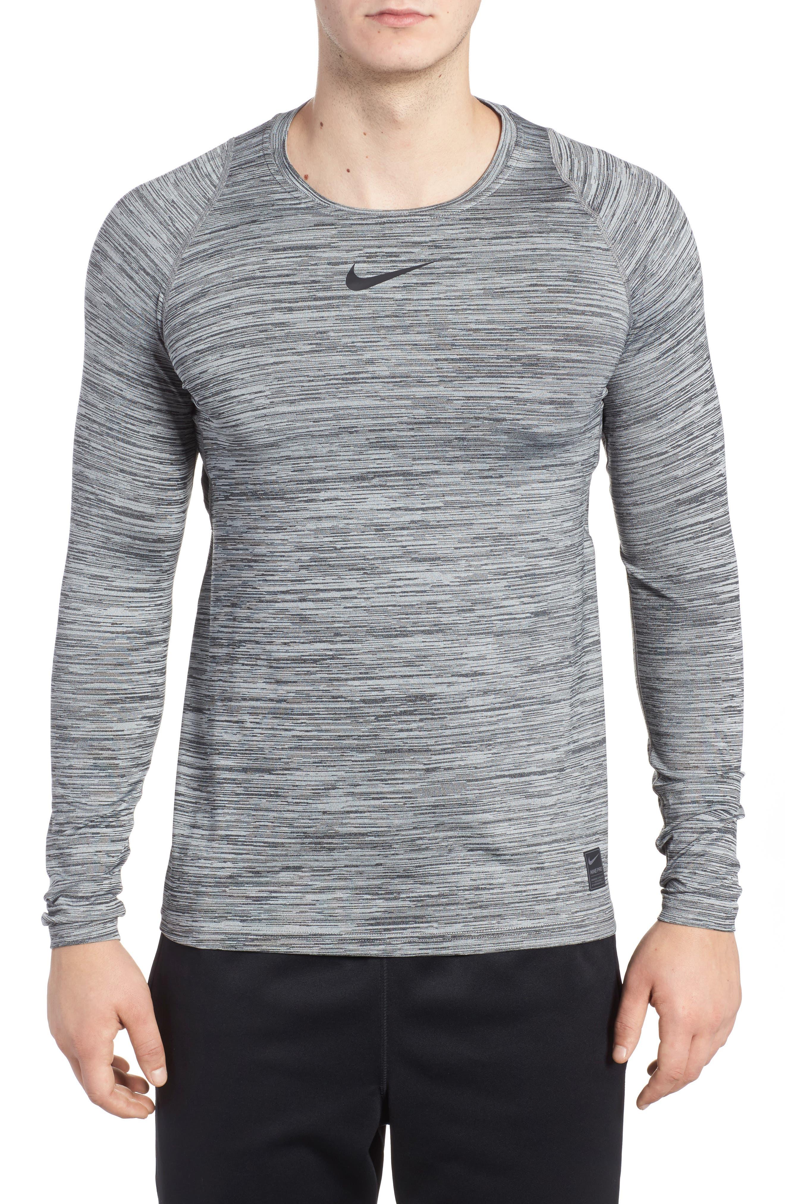 Nike Pro Long Sleeve T-Shirt, Black