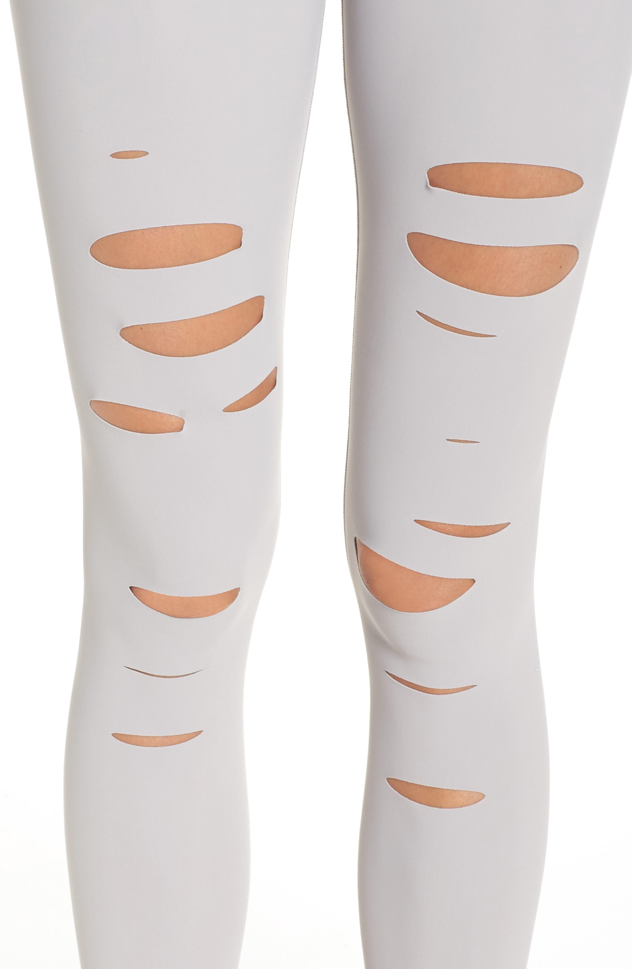 Ripped Airbrush Leggings,                             Alternate thumbnail 4, color,                             057