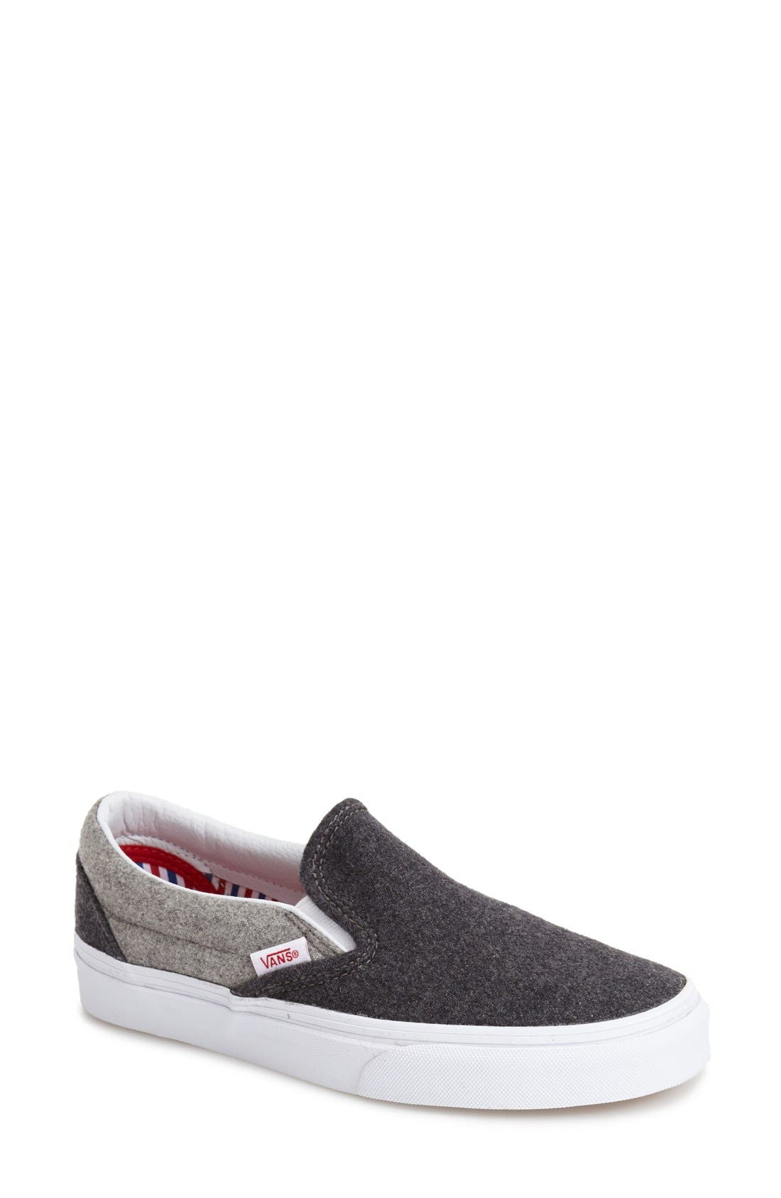 'Classic - Wool' Slip-On Sneaker,                             Main thumbnail 1, color,                             020