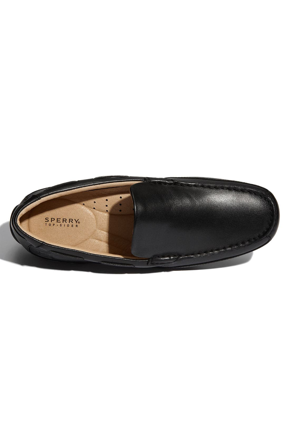 Top-Sider<sup>®</sup> 'Navigator Venetian' Driving Shoe,                             Alternate thumbnail 2, color,                             001