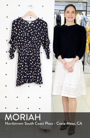 Love Light Floral Print Dress, sales video thumbnail