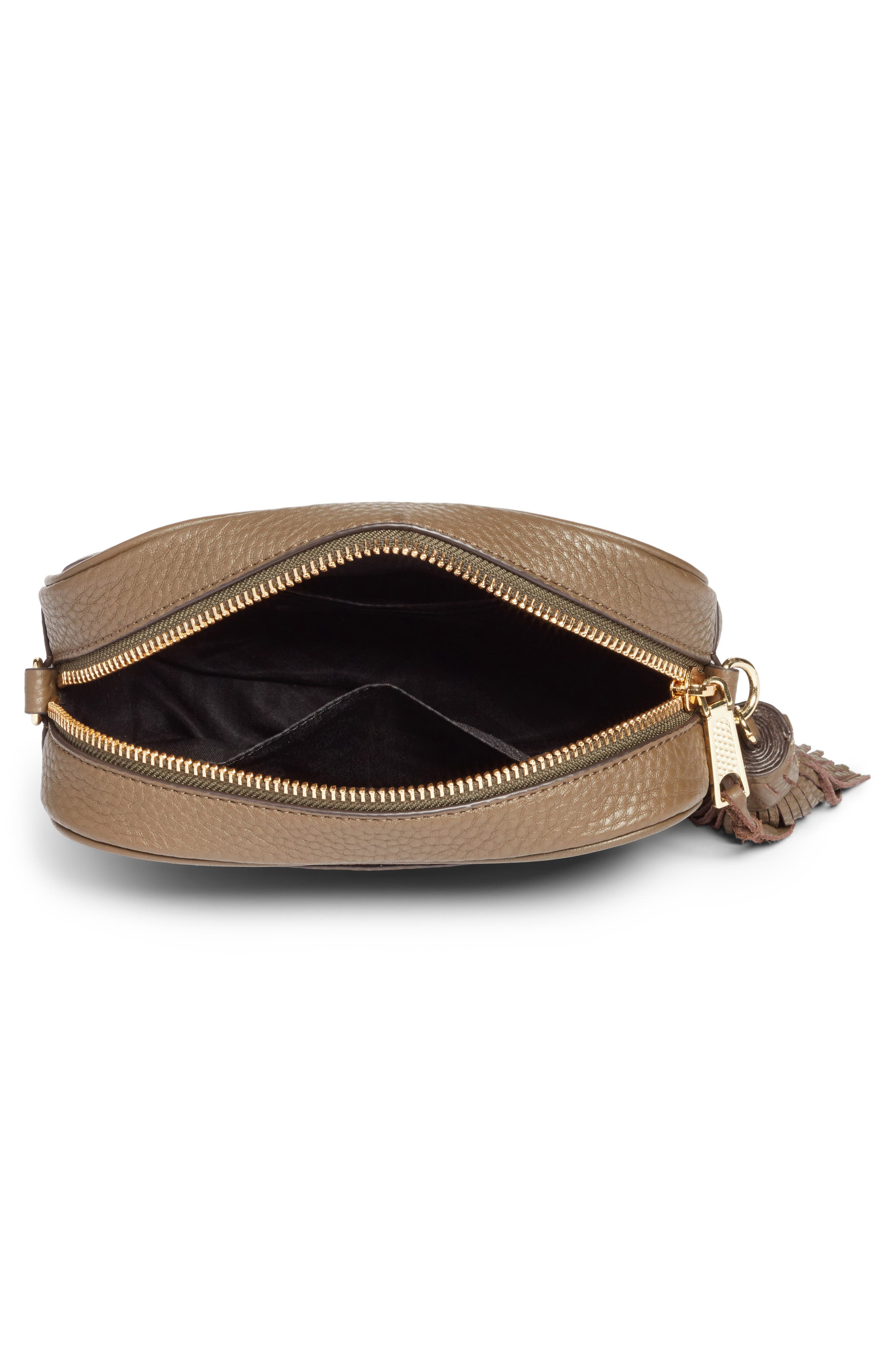 Leather Camera Bag with Guitar Strap,                             Alternate thumbnail 12, color,
