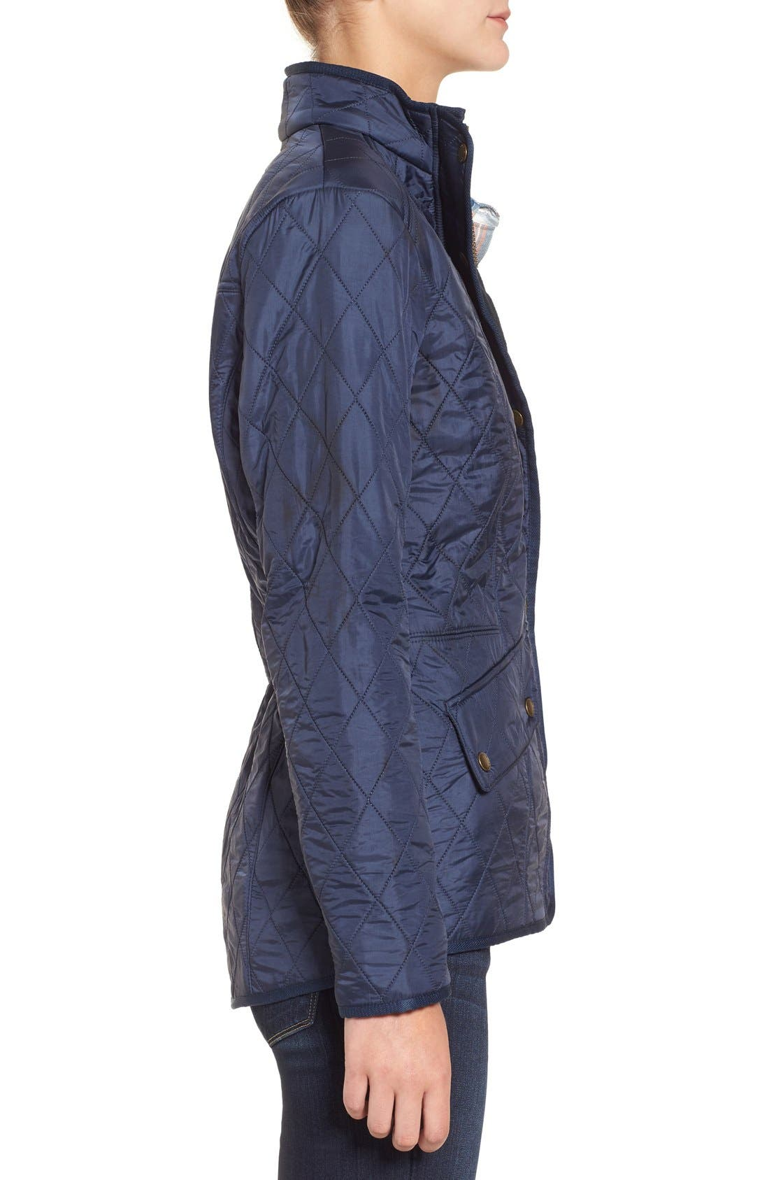 'Cavalry' Quilted Jacket,                             Alternate thumbnail 34, color,