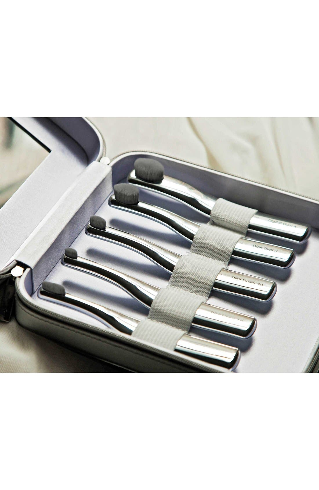 The Digit 5-Brush Set in Luxury Case,                             Alternate thumbnail 2, color,                             NO COLOR