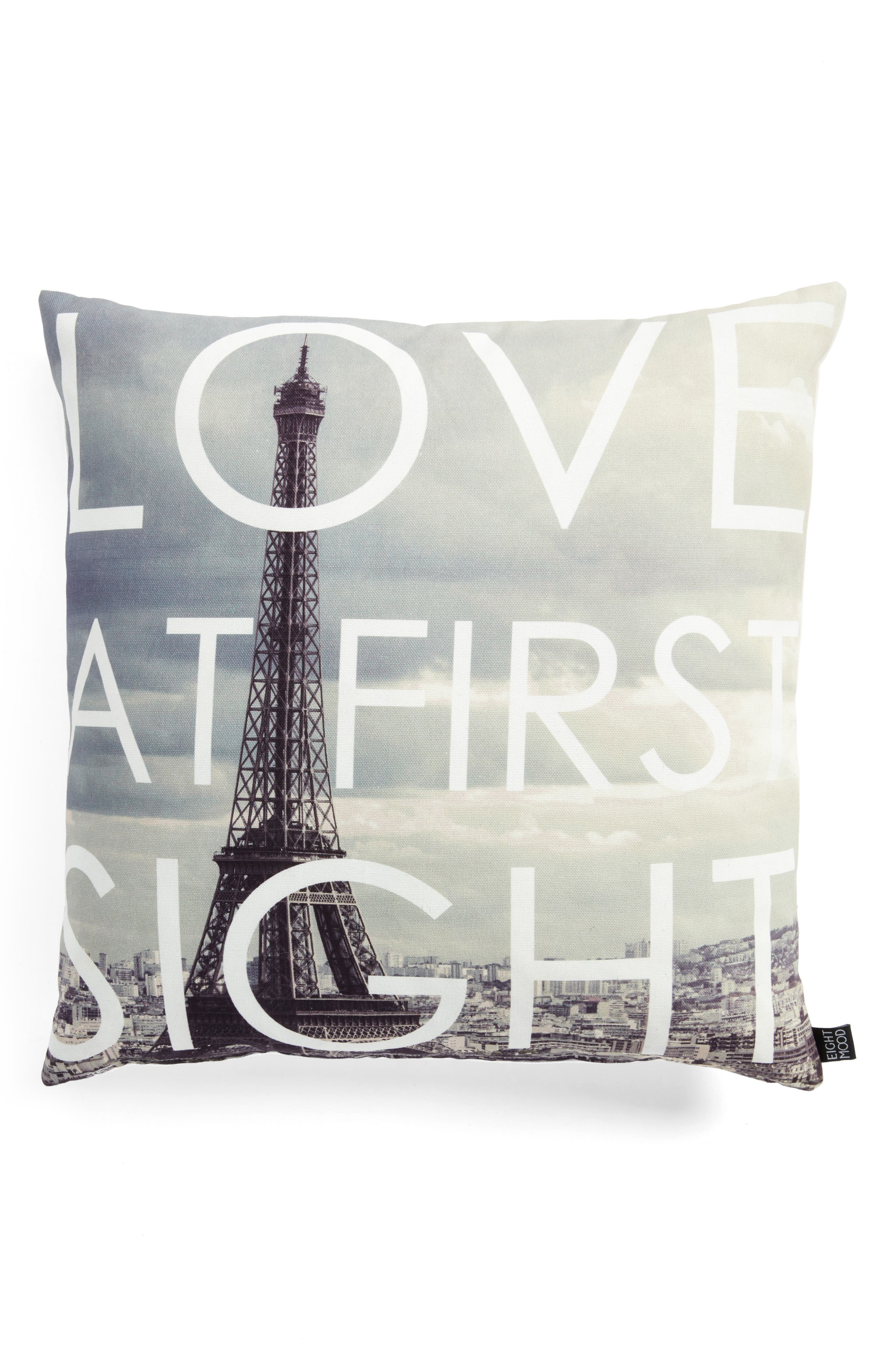 Love at First Sight Accent Pillow,                             Main thumbnail 1, color,                             020