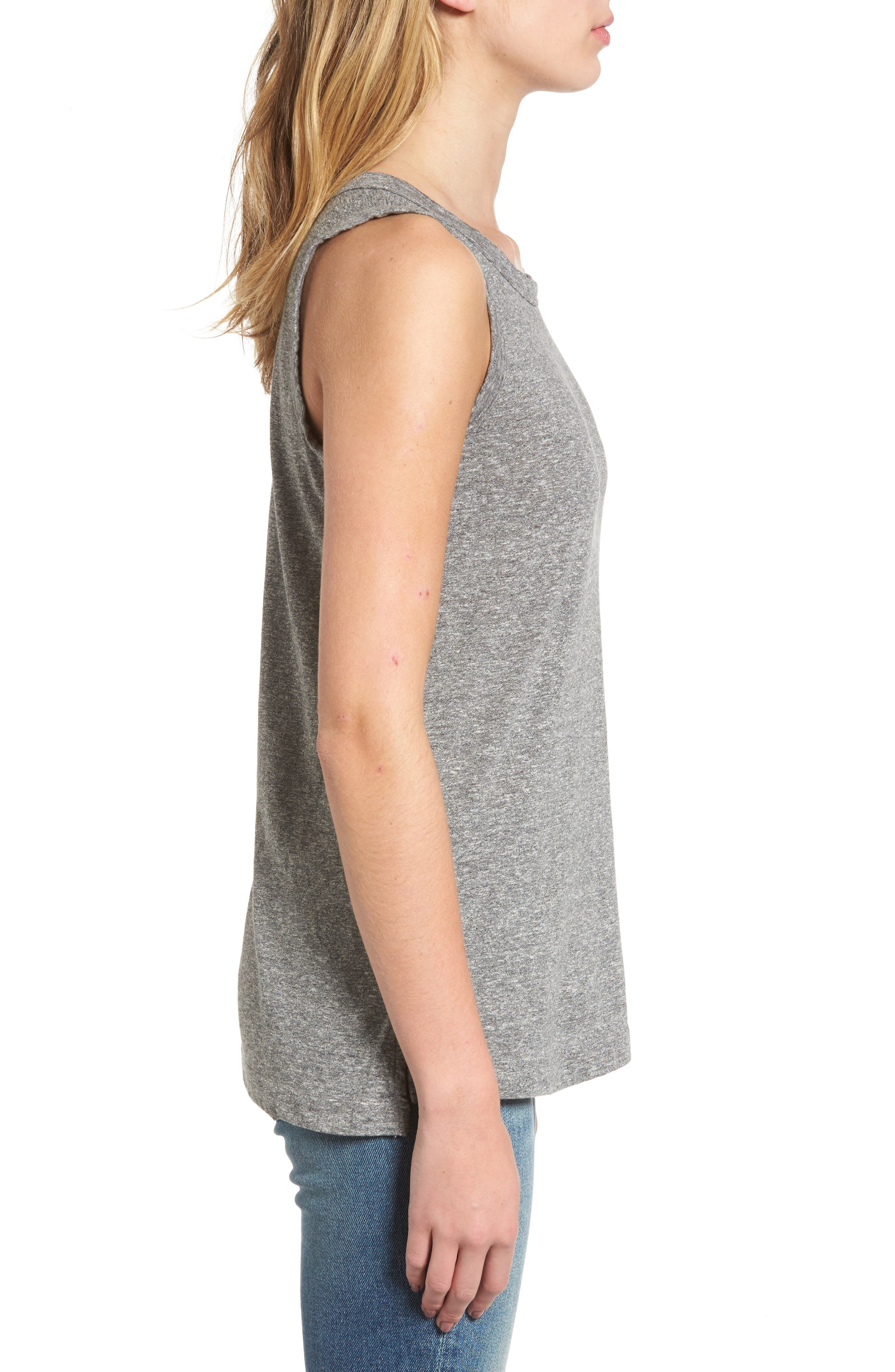 'The Muscle' Tee,                             Alternate thumbnail 4, color,                             HEATHER GREY