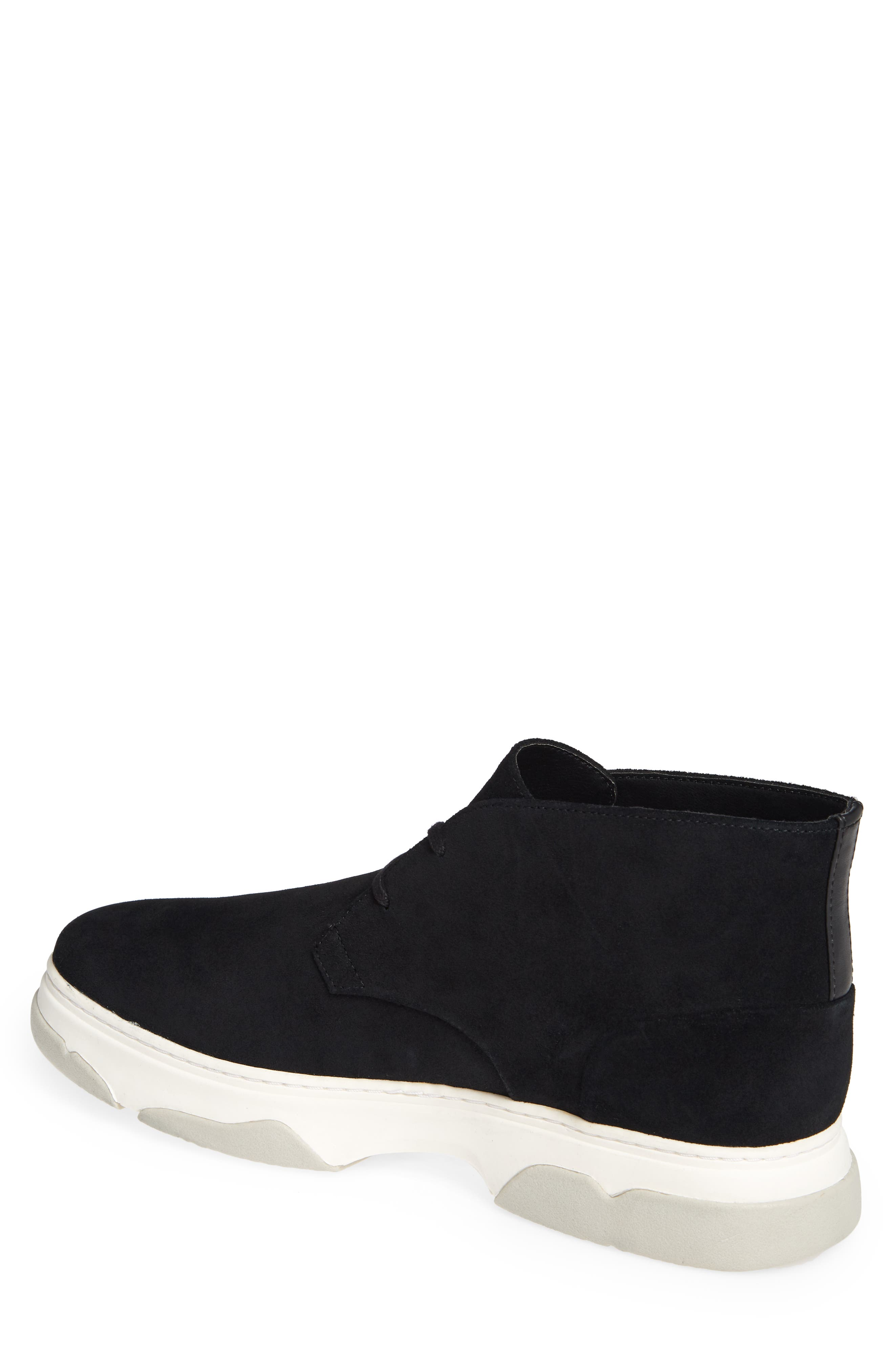 Perry Chukka Boot,                             Alternate thumbnail 2, color,                             BLACK CALF SUEDE