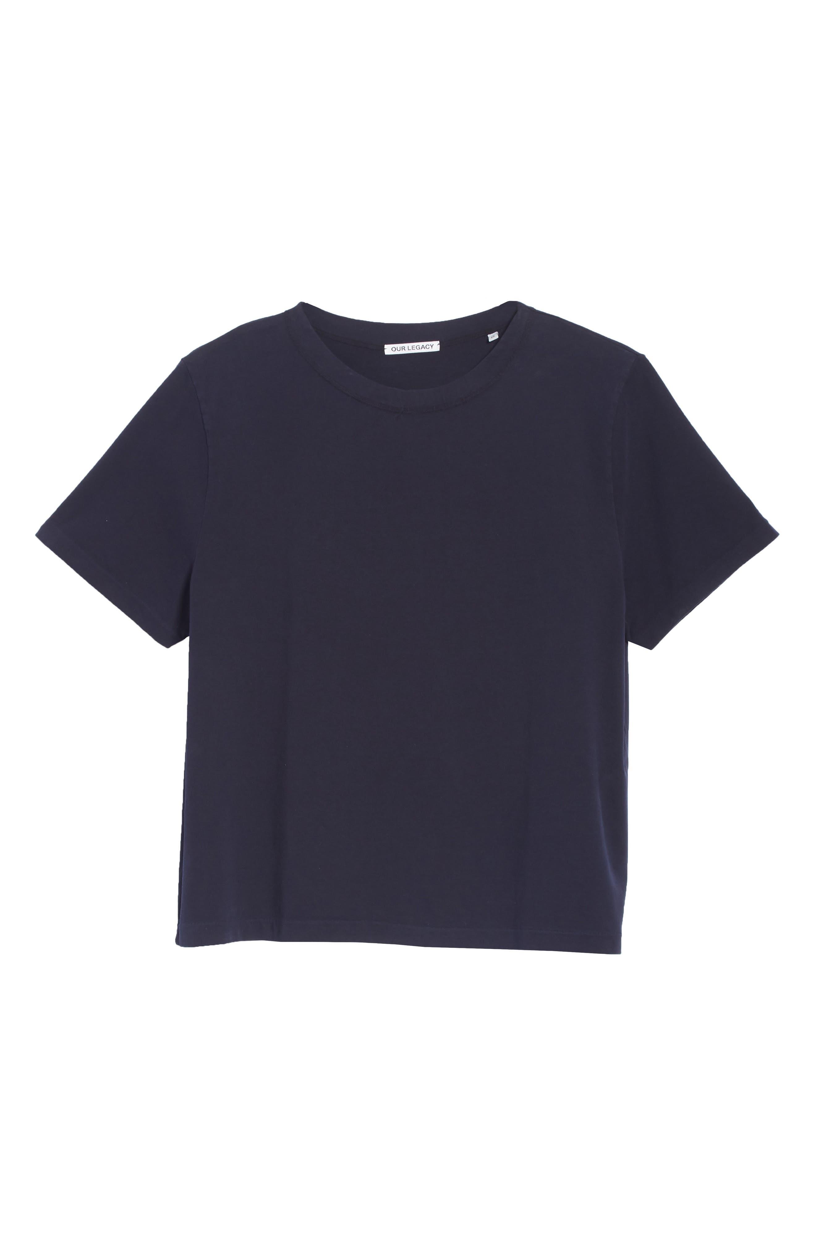 Clean Box T-Shirt,                             Alternate thumbnail 6, color,                             NAVY
