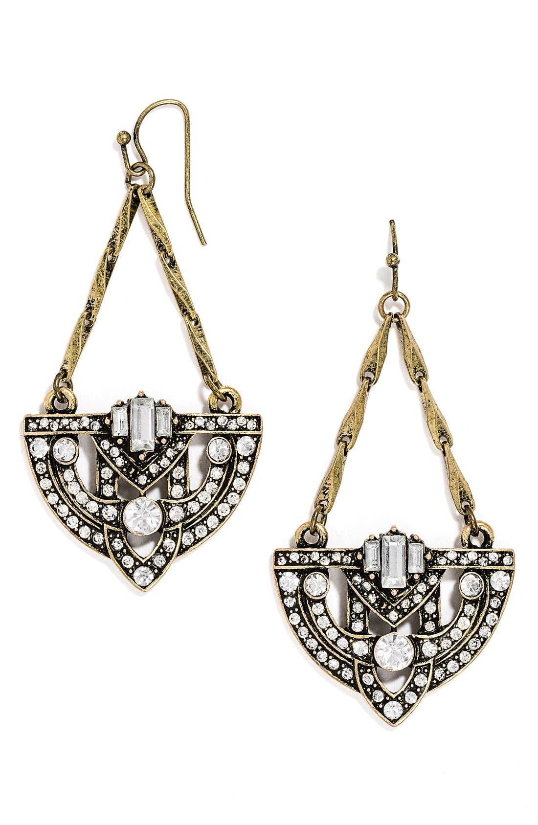 'Zelda' Drop Earrings, Main, color, 710