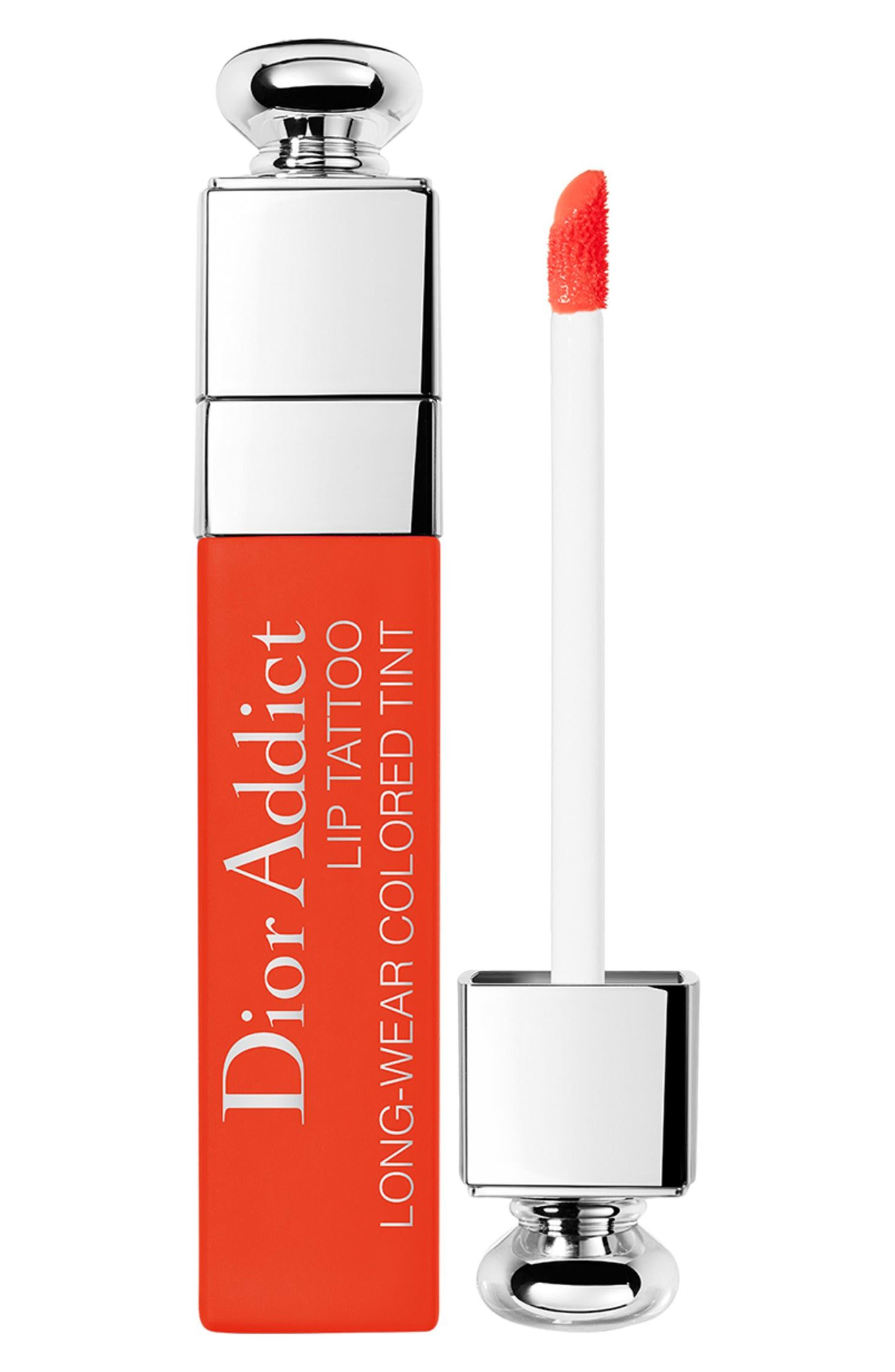 Dior Addict Lip Tattoo Color Juice Long-Wearing Color Tint - 641 Orange