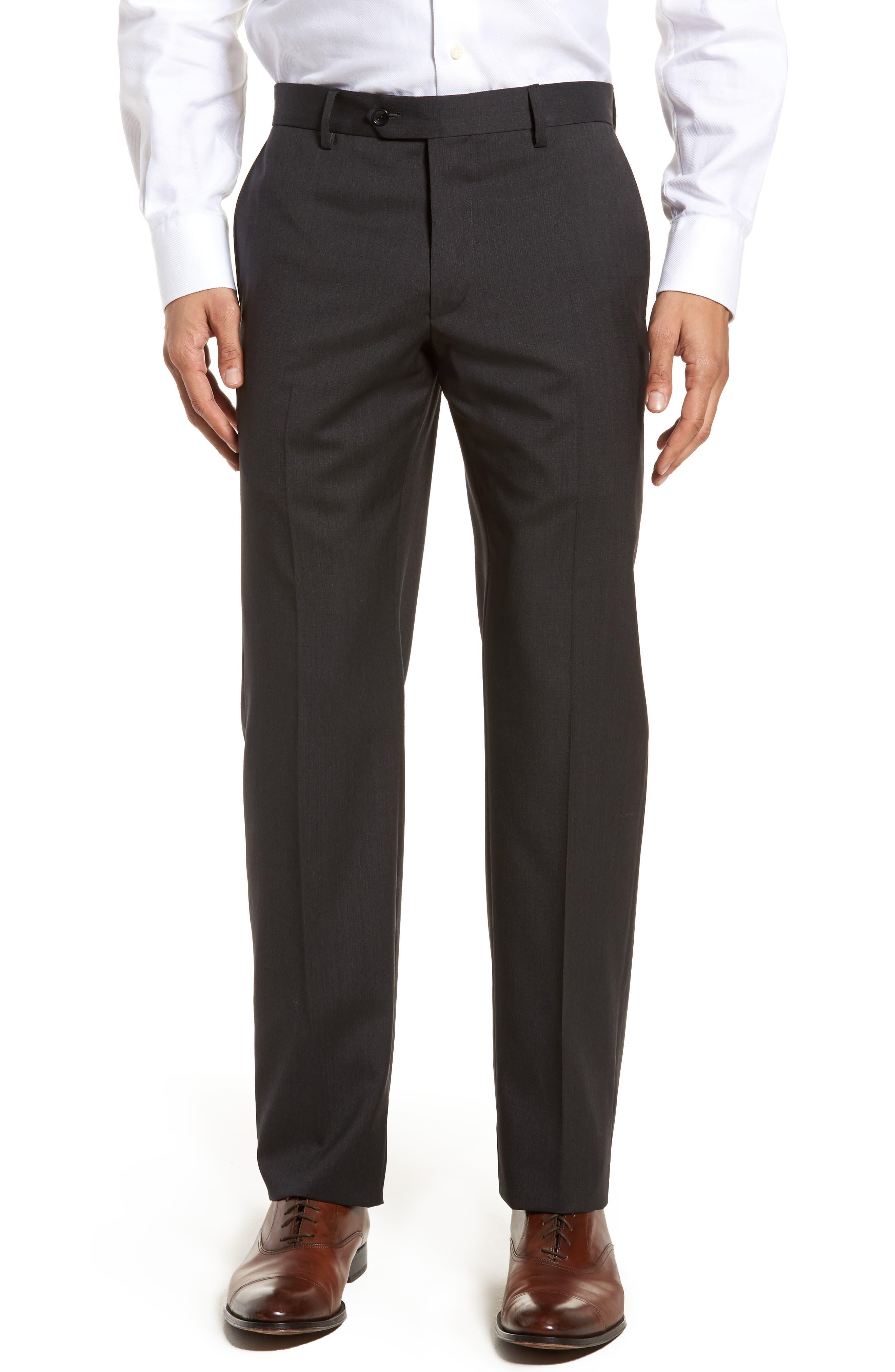 Classic Fit Check Suit,                             Alternate thumbnail 6, color,                             020