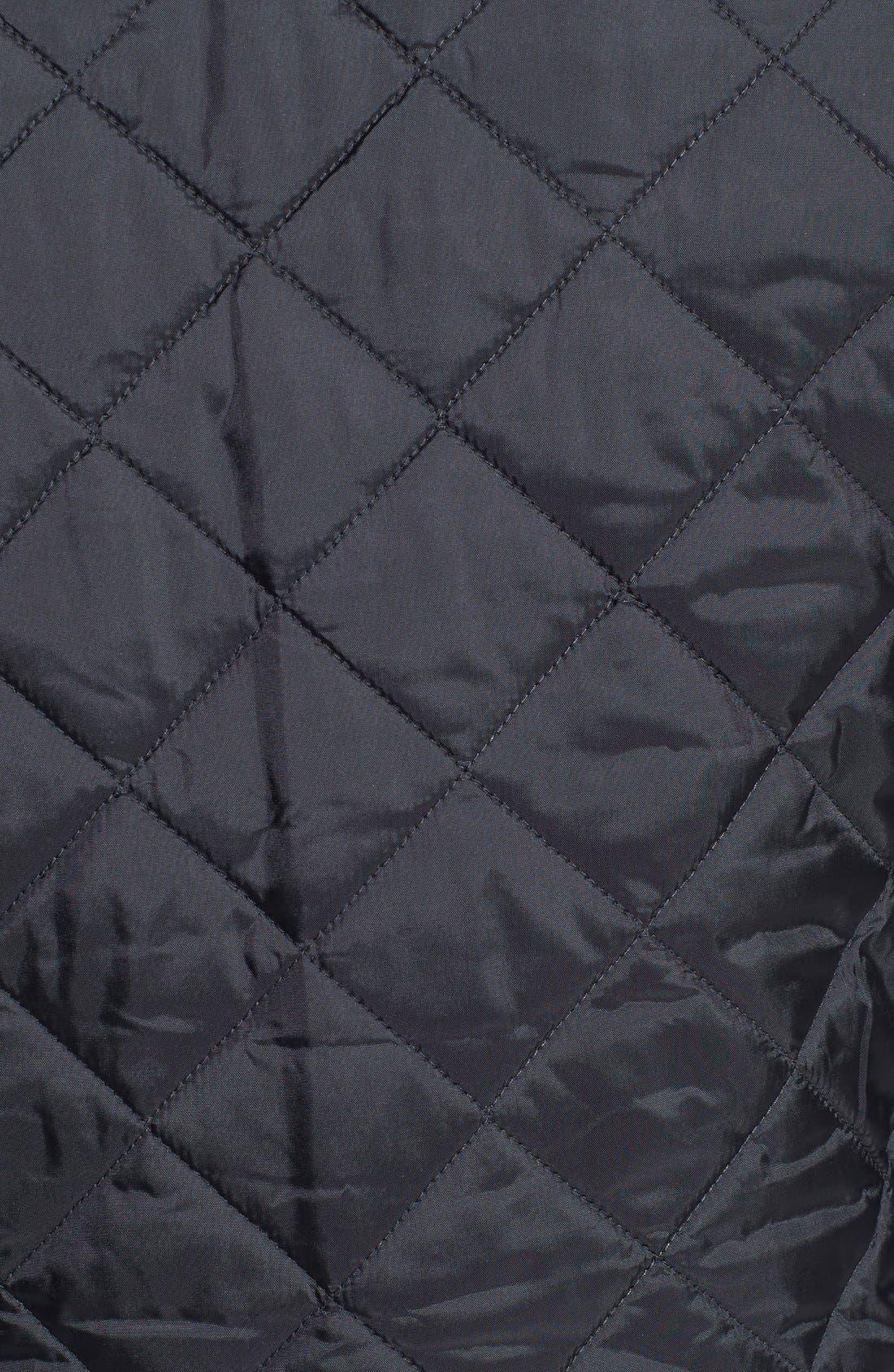 'Heritage Liddesdale' Slim Fit Quilted Jacket,                             Alternate thumbnail 7, color,