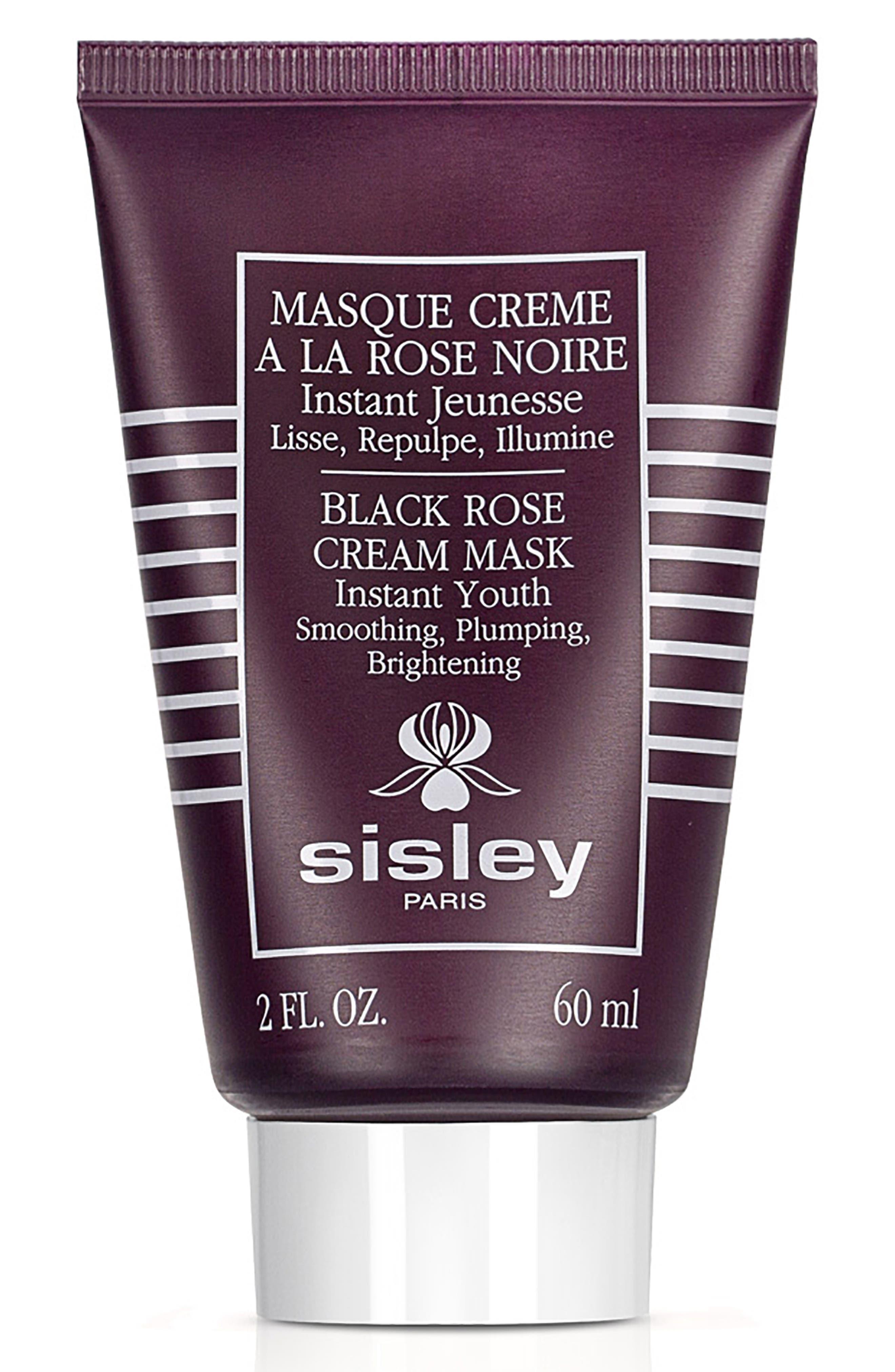 Black Rose Cream Mask,                             Alternate thumbnail 2, color,                             NO COLOR