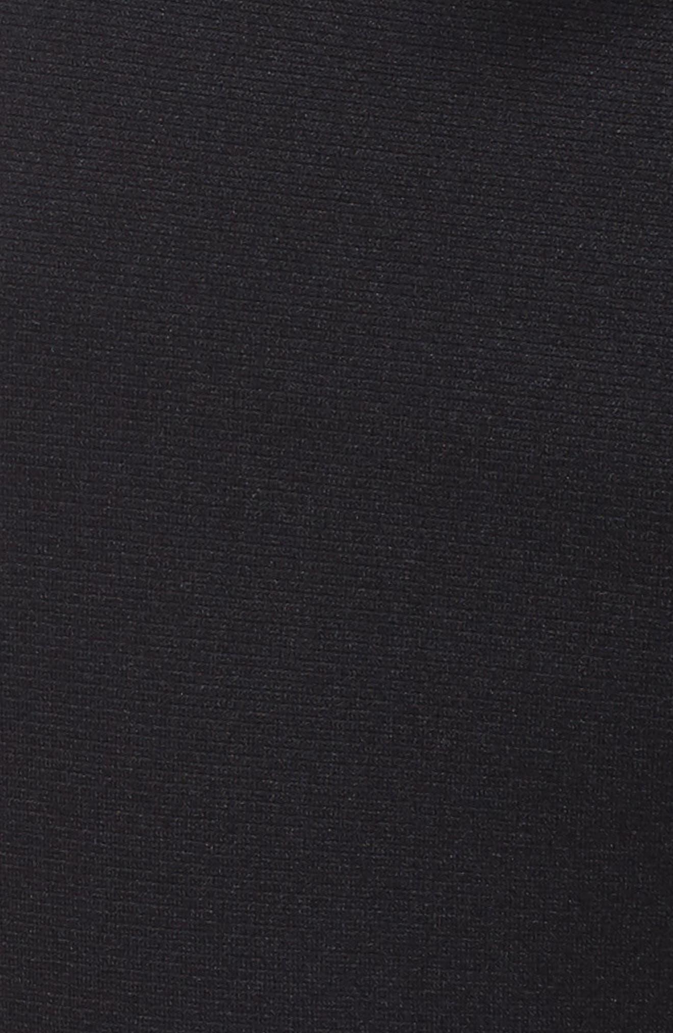 UNDER ARMOUR,                             Sportstyle Knit Jogger Pants,                             Alternate thumbnail 5, color,                             BLACK/ WHITE