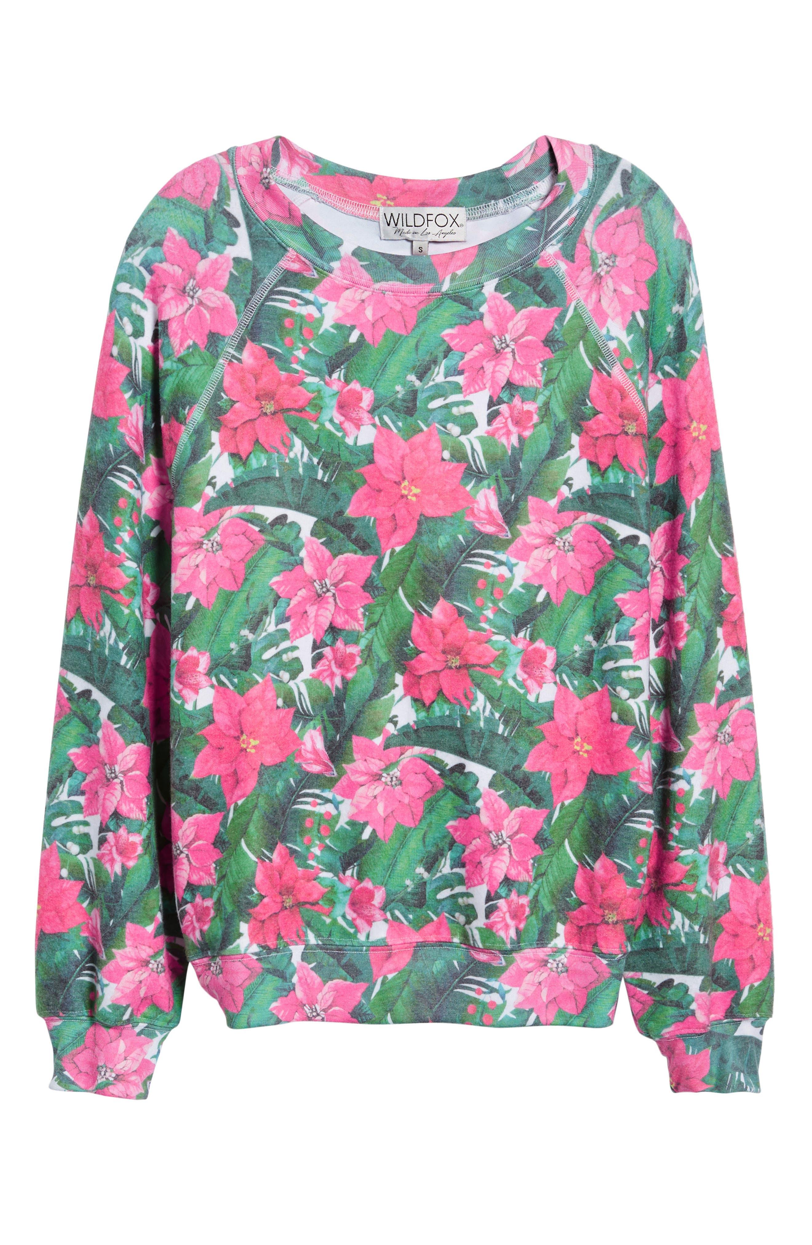Island Holiday Sommers Sweatshirt,                             Alternate thumbnail 6, color,                             MULTI