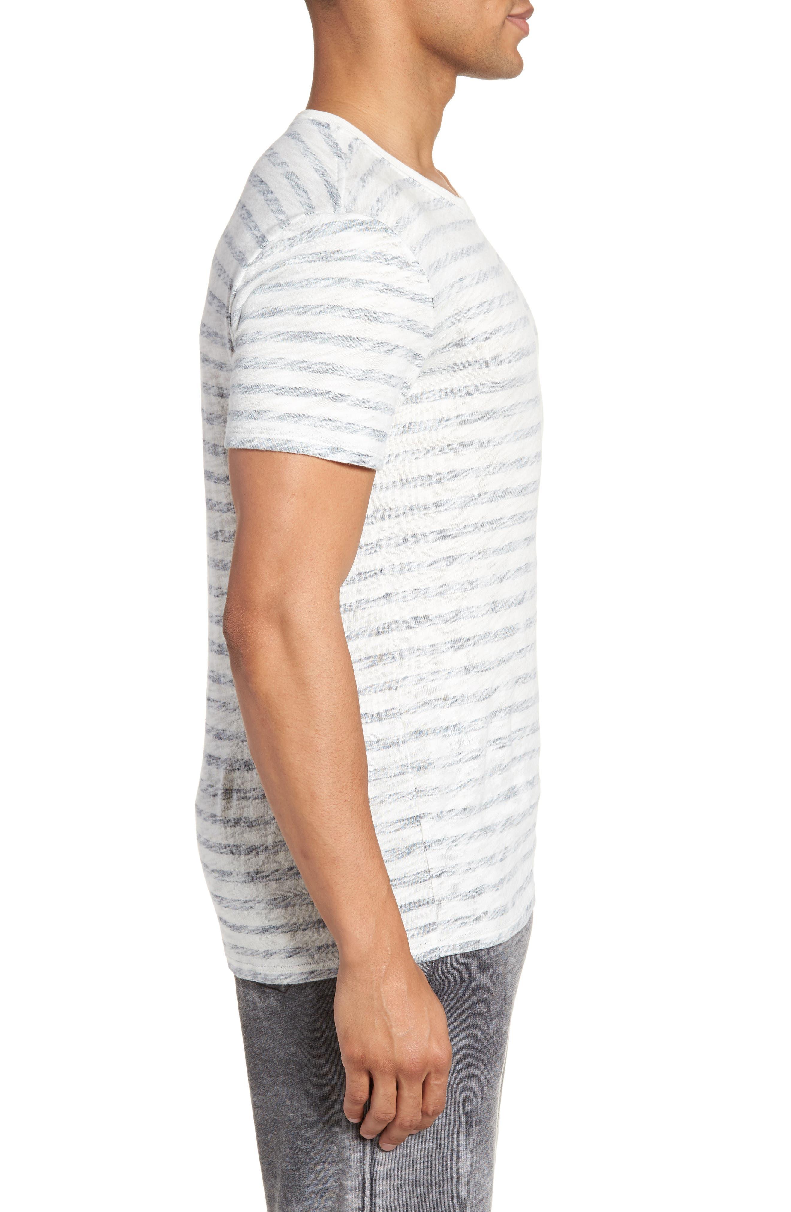 Stripe T-Shirt,                             Alternate thumbnail 3, color,                             115