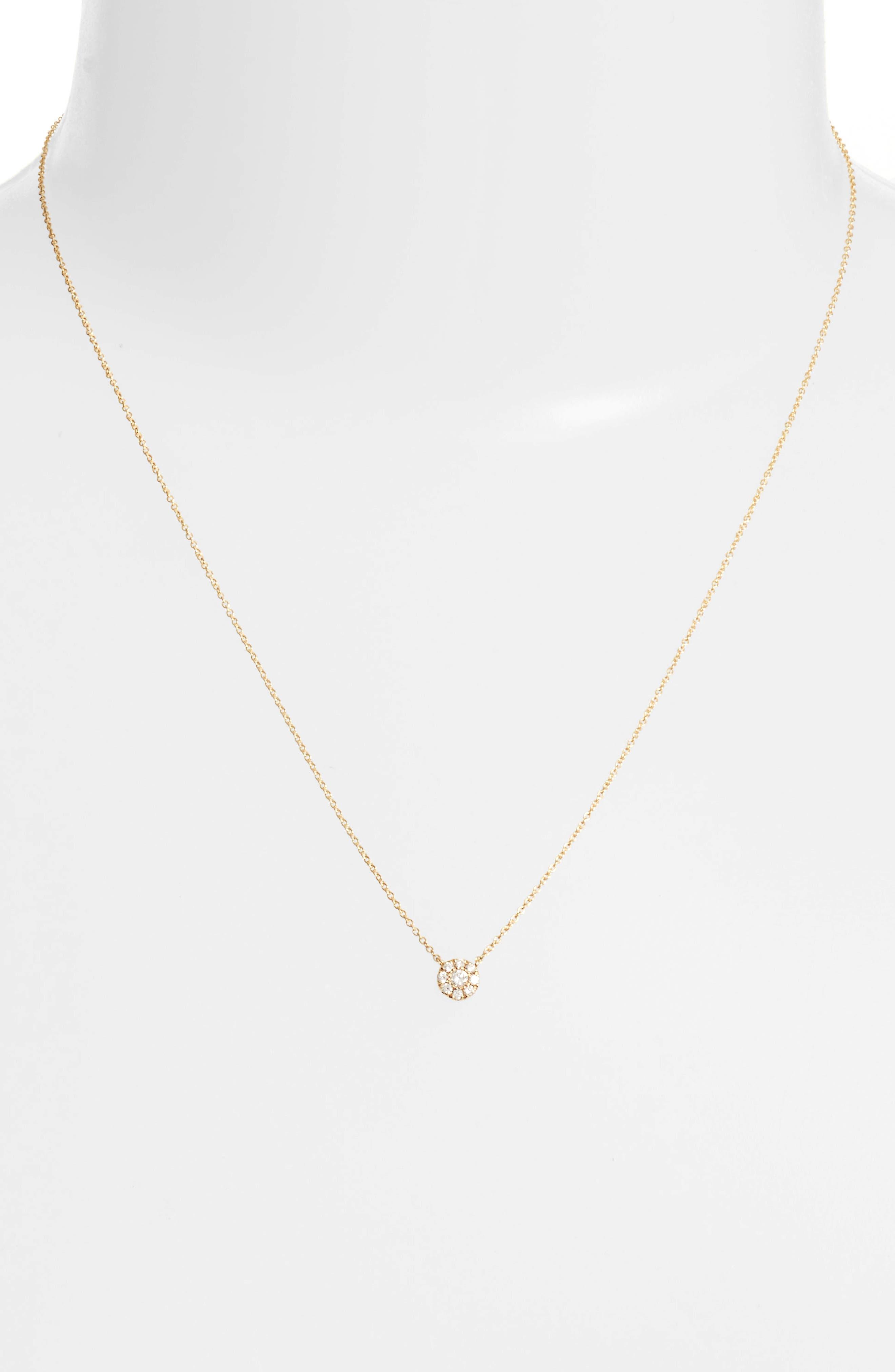 Ella Diamond Pendant Necklace,                             Alternate thumbnail 4, color,