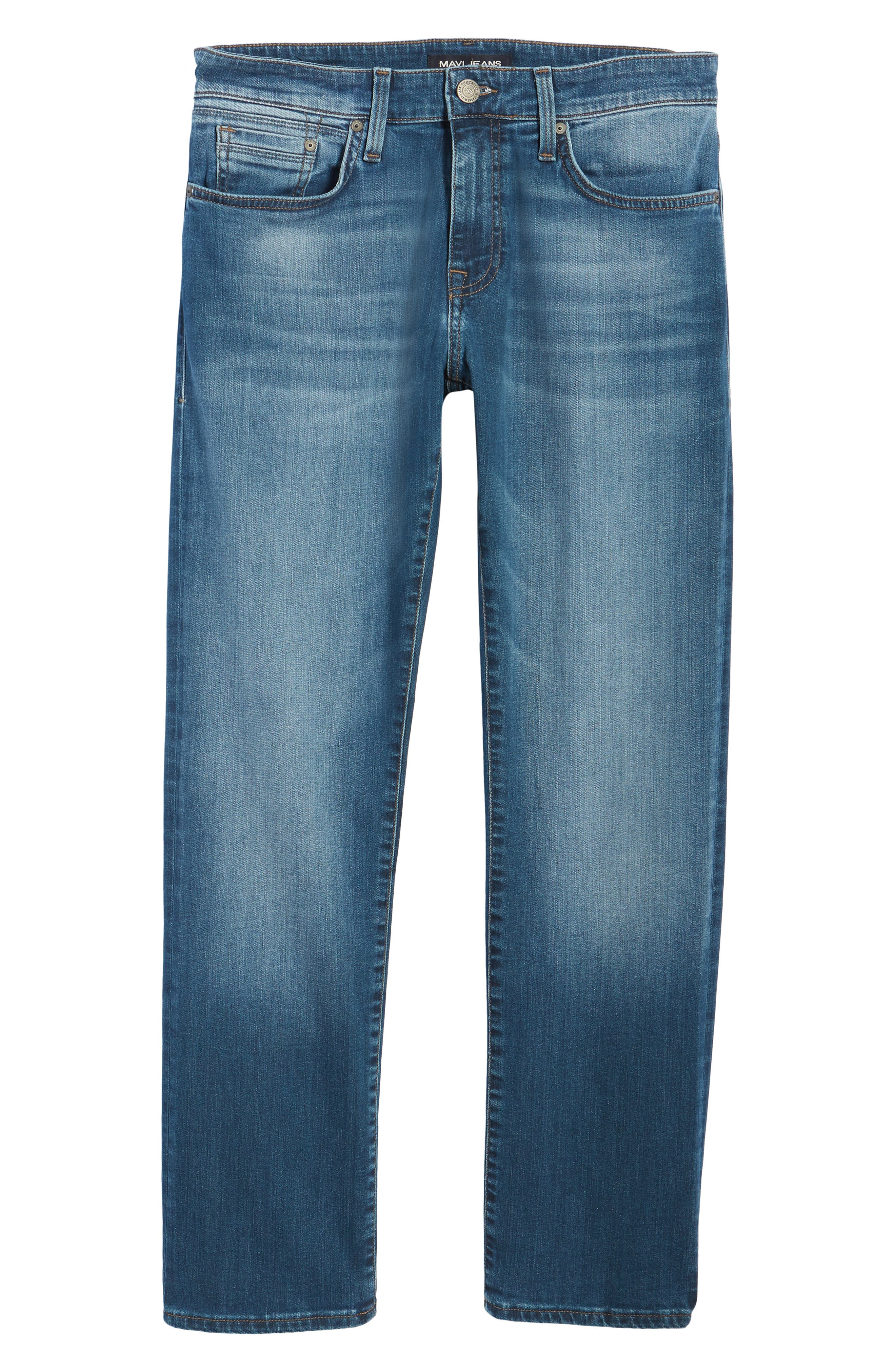 Zach Straight Fit Jeans,                             Alternate thumbnail 6, color,