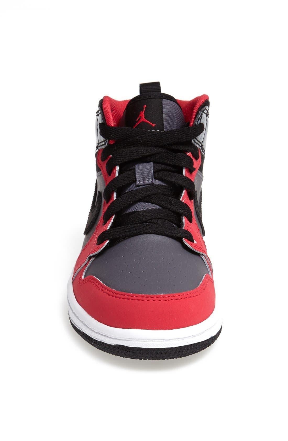 'Air Jordan 1 Mid' Sneaker,                             Alternate thumbnail 2, color,                             019