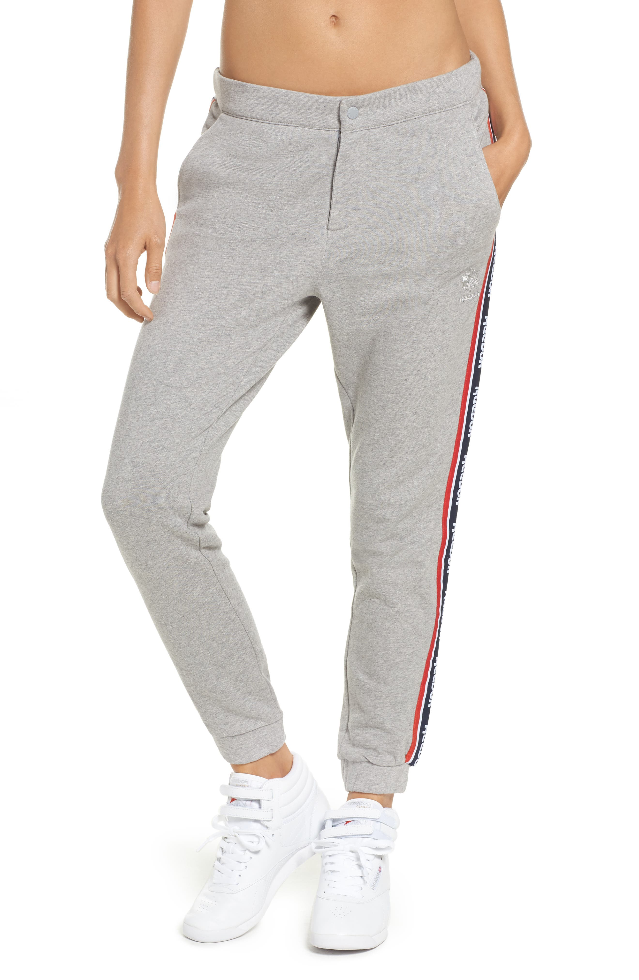 French Terry Pants,                             Main thumbnail 1, color,