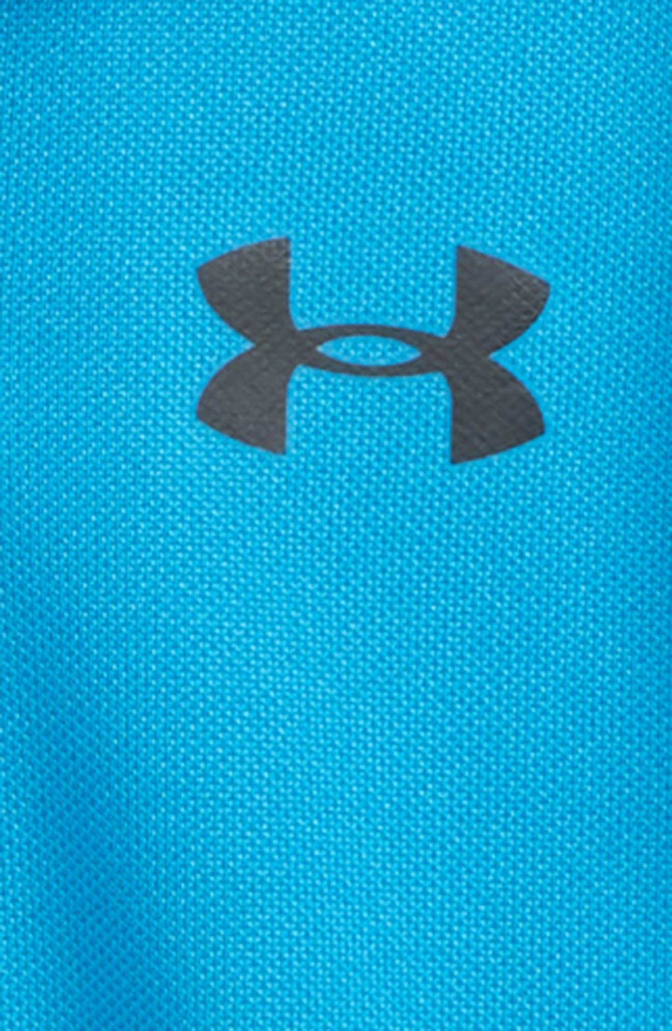 HeatGear<sup>®</sup> Polo Bodysuit,                             Alternate thumbnail 4, color,