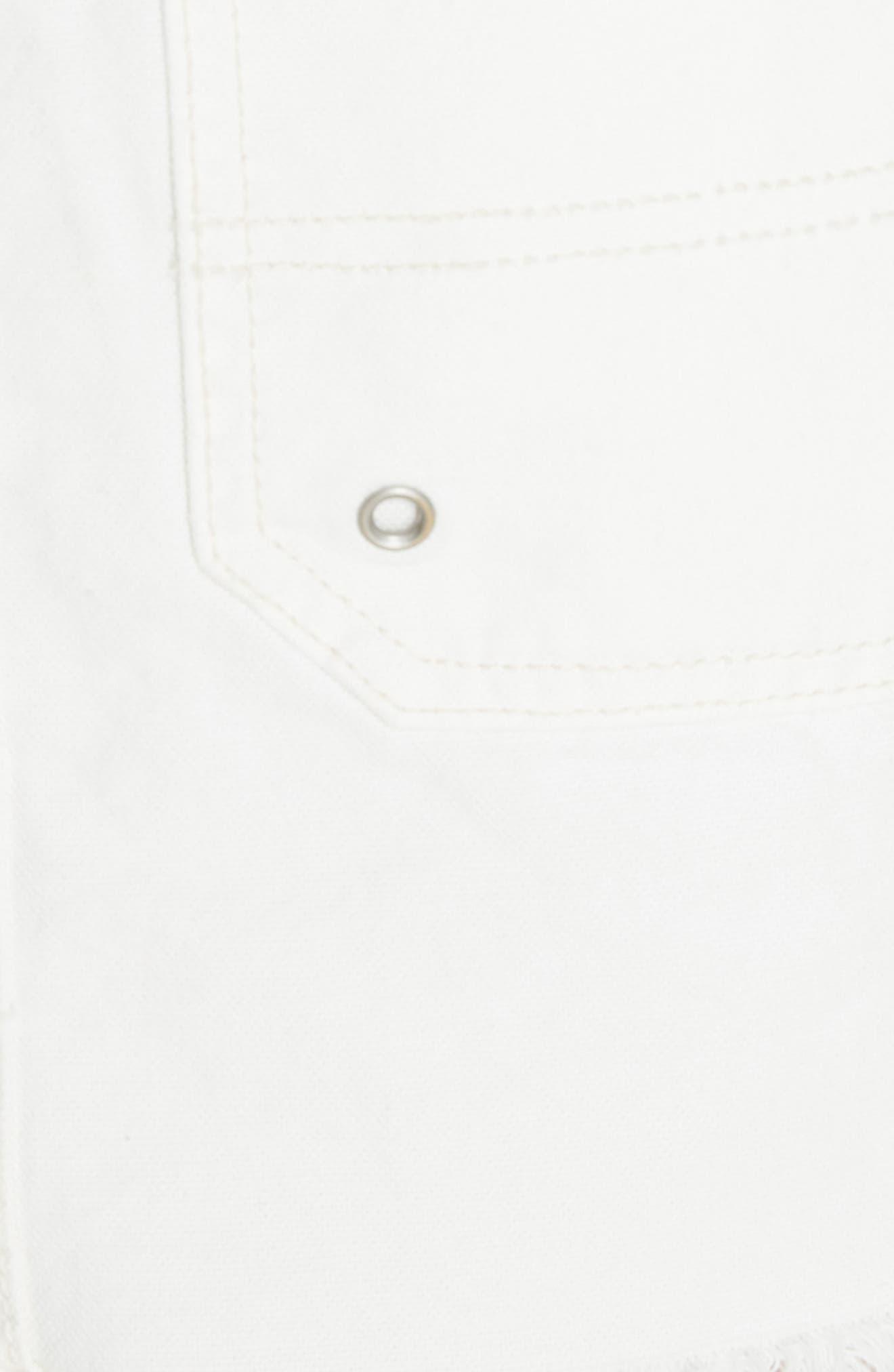 Canvas Miniskirt,                             Alternate thumbnail 15, color,