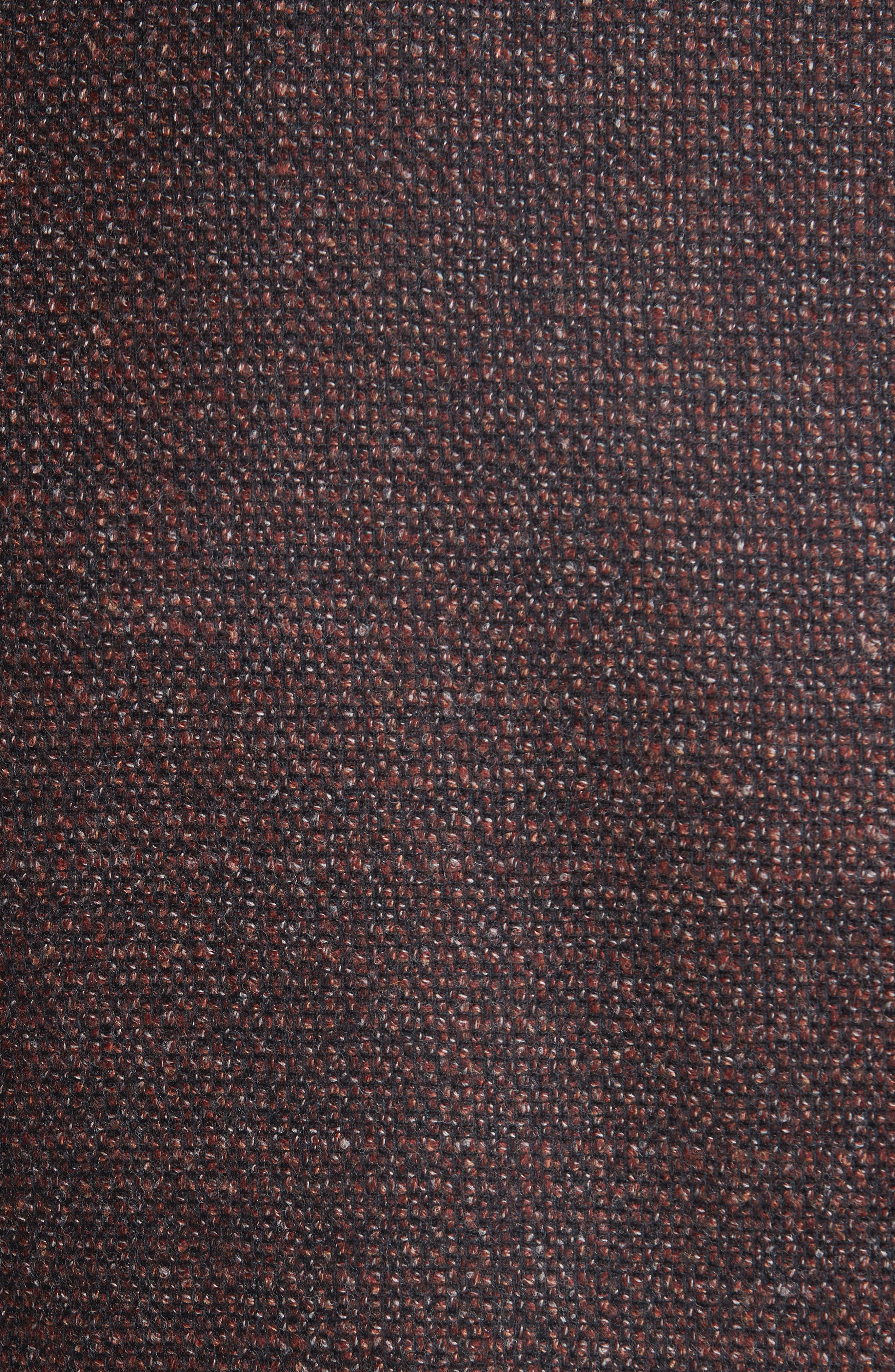 Kei Classic Fit Wool Sport Coat,                             Alternate thumbnail 6, color,                             DARK RED
