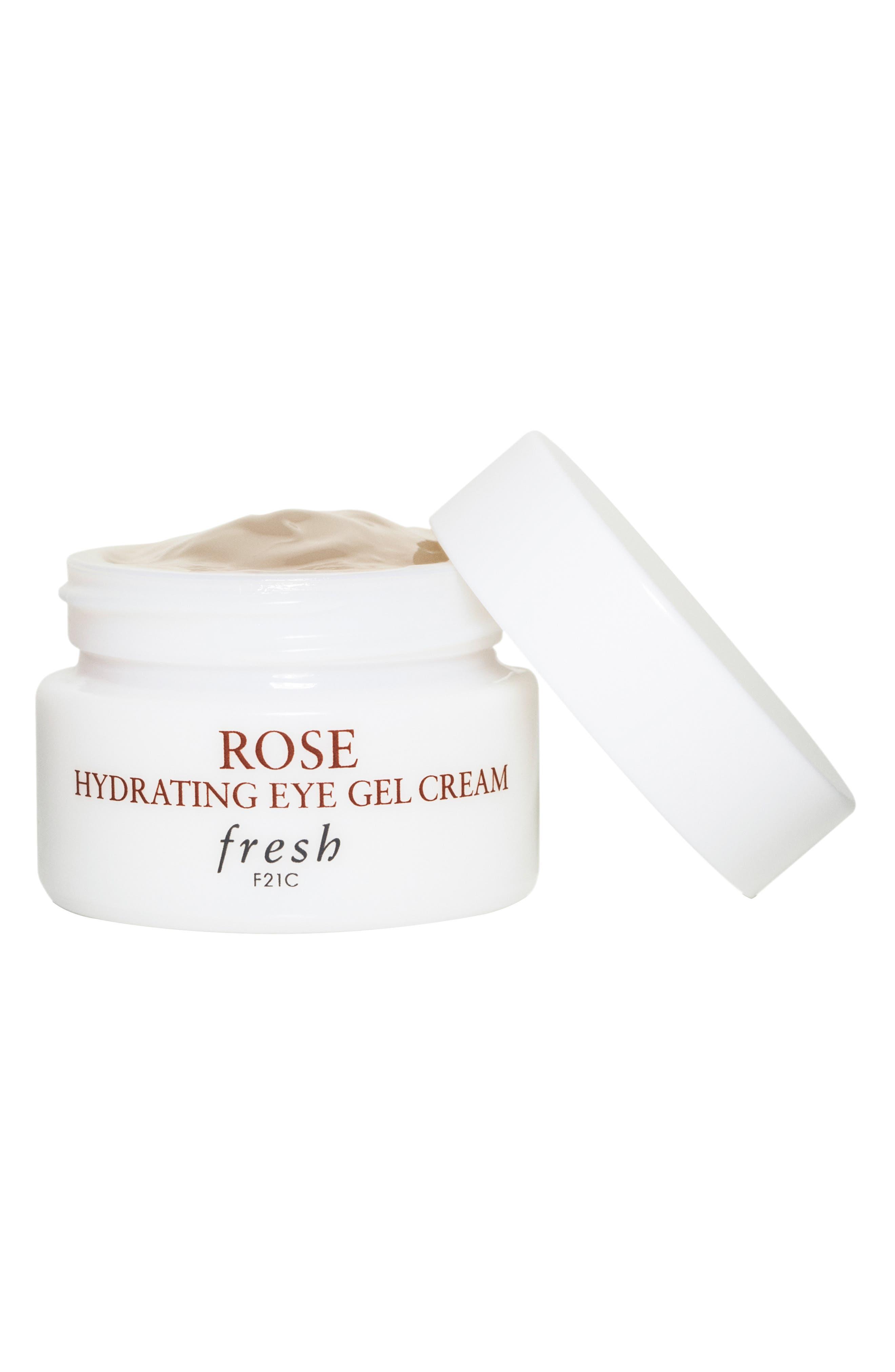 Rose Hydrating Eye Gel Cream,                             Main thumbnail 1, color,                             NO COLOR