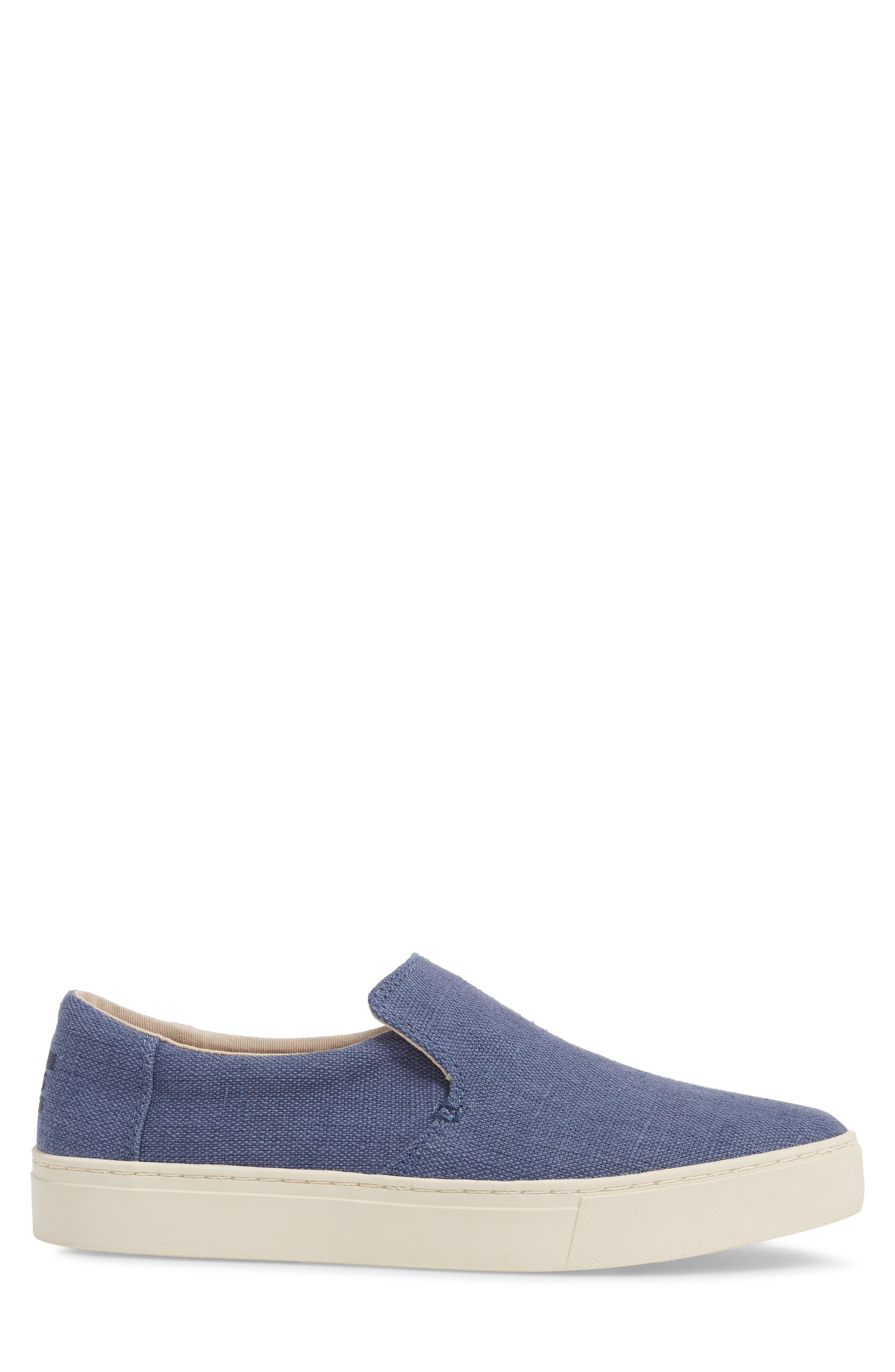 TOMS,                             Loma Slip-On Sneaker,                             Alternate thumbnail 3, color,                             CADET BLUE HERITAGE CANVAS