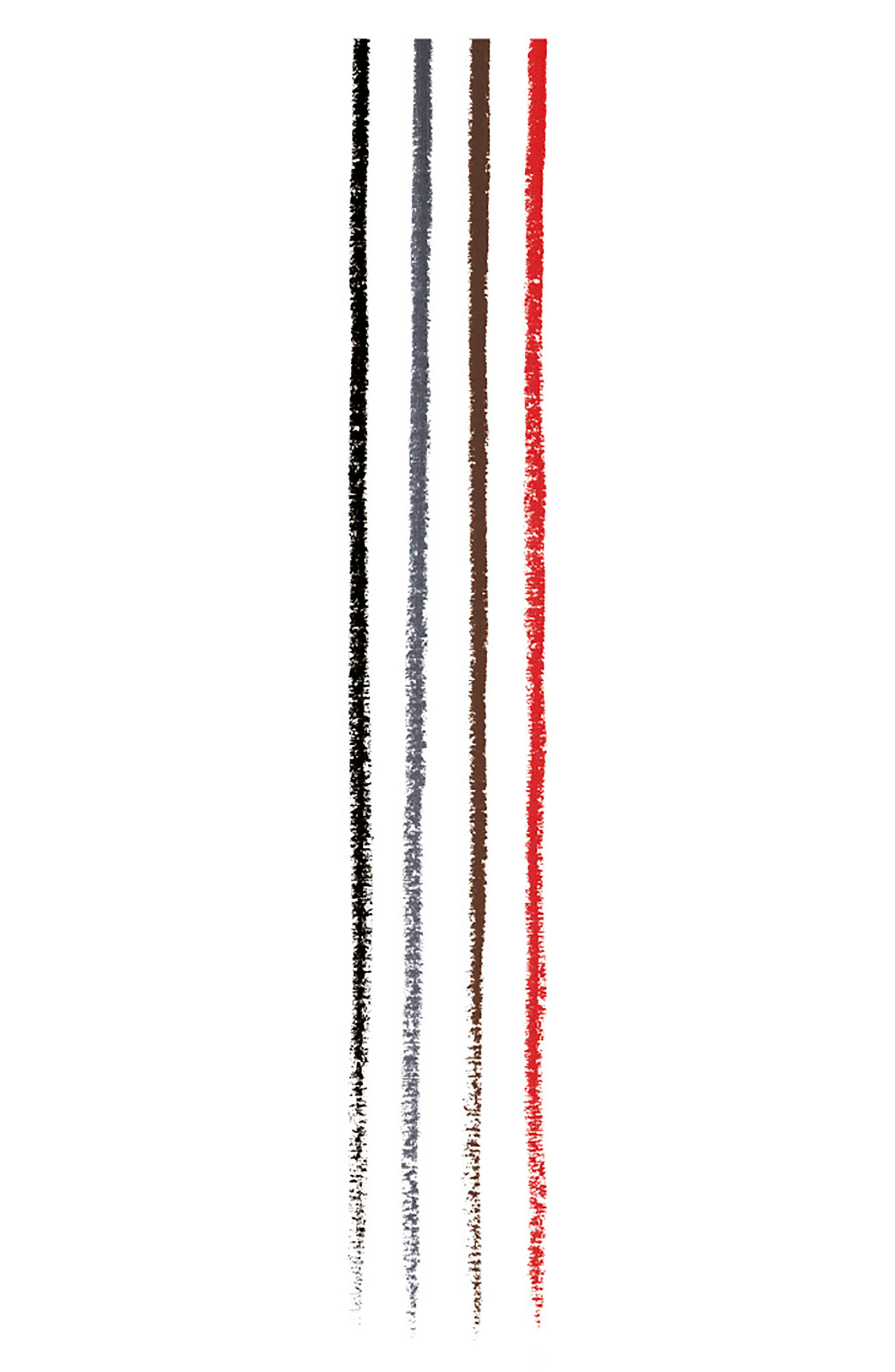 Red 4-Color All-in-One Lining Pen,                             Alternate thumbnail 2, color,                             000