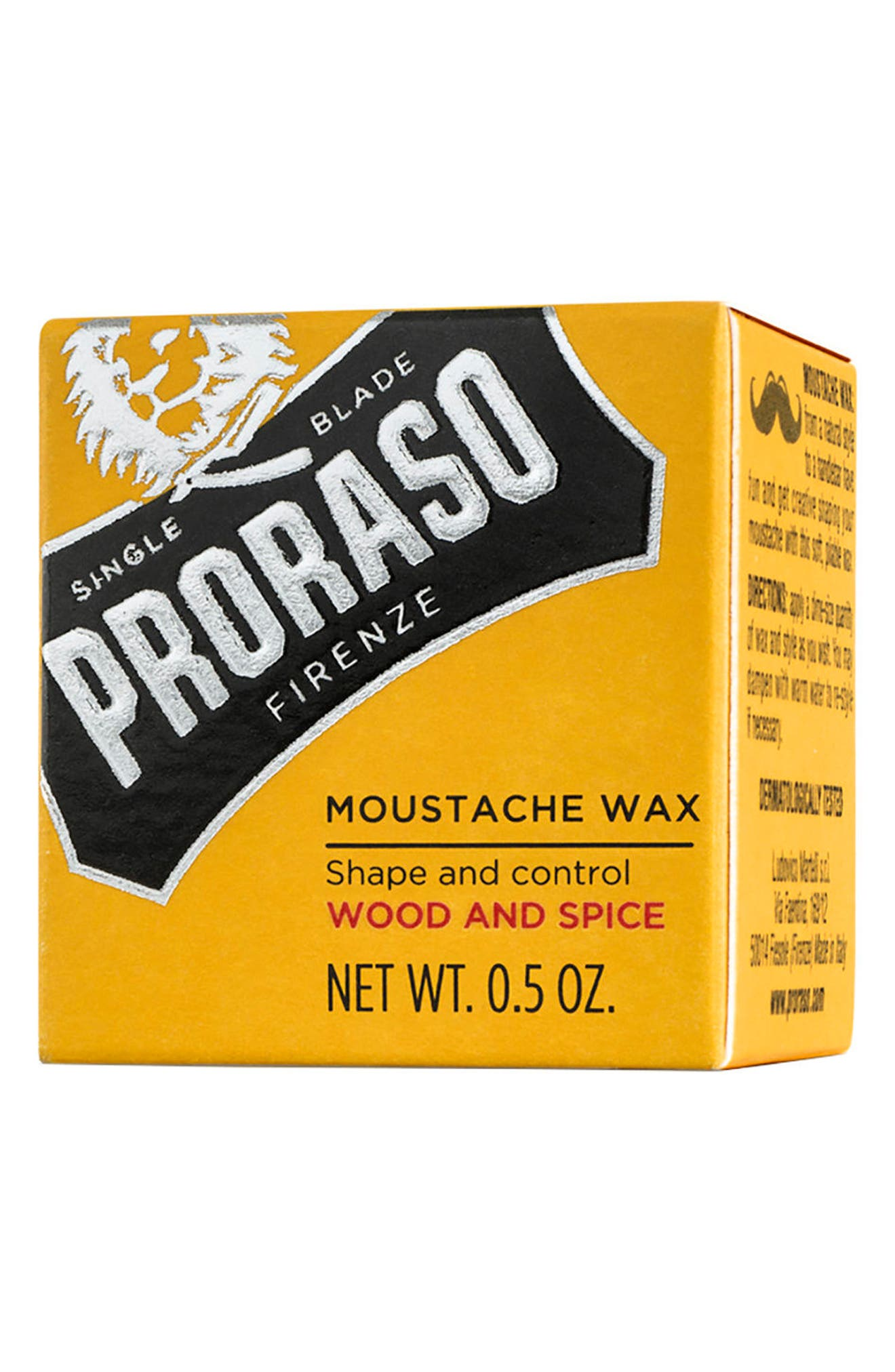 Men's Grooming Mustache Wax,                             Alternate thumbnail 3, color,                             NO COLOR