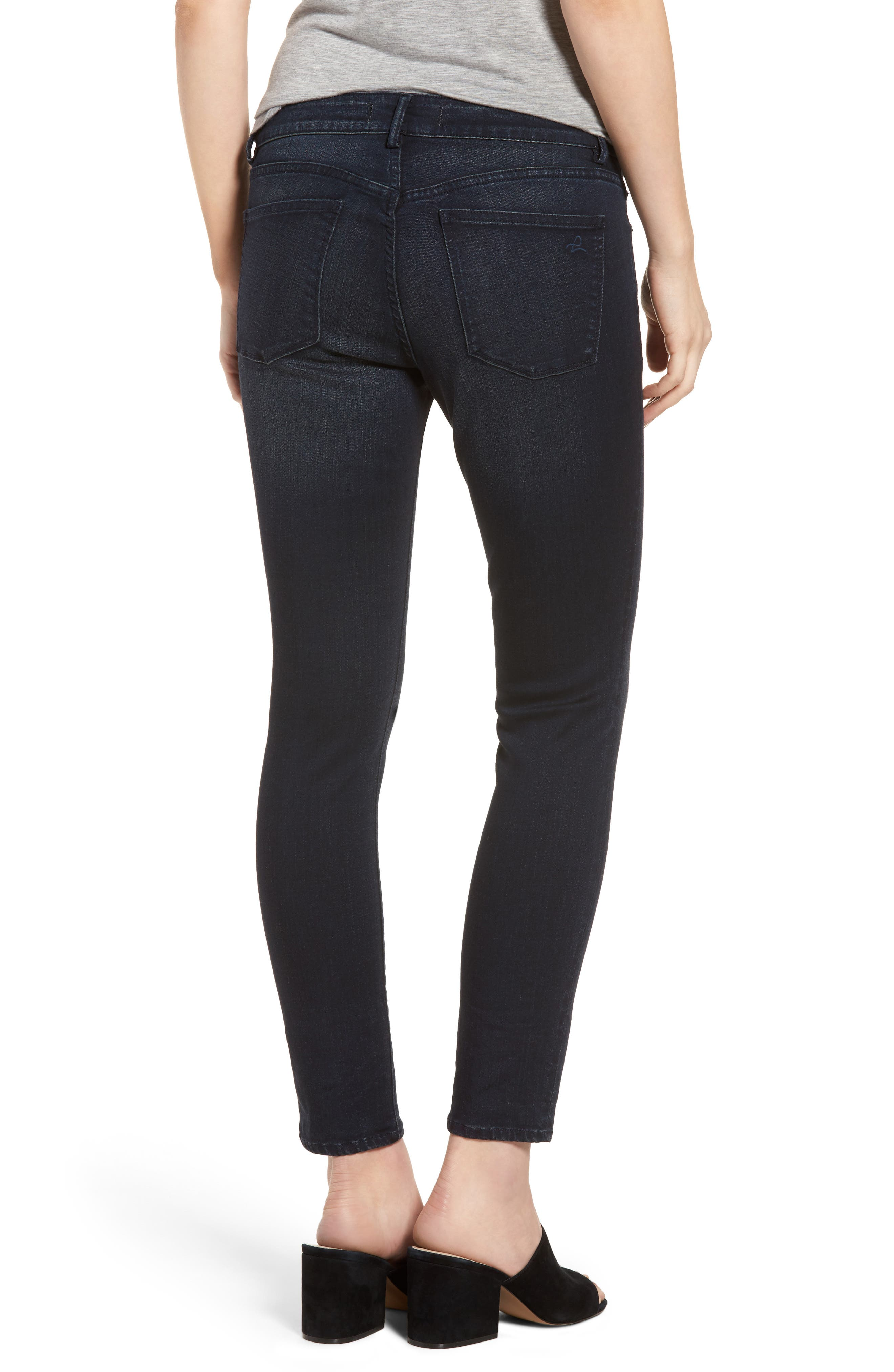 Coco Curvy Skinny Ankle Jeans,                             Alternate thumbnail 2, color,