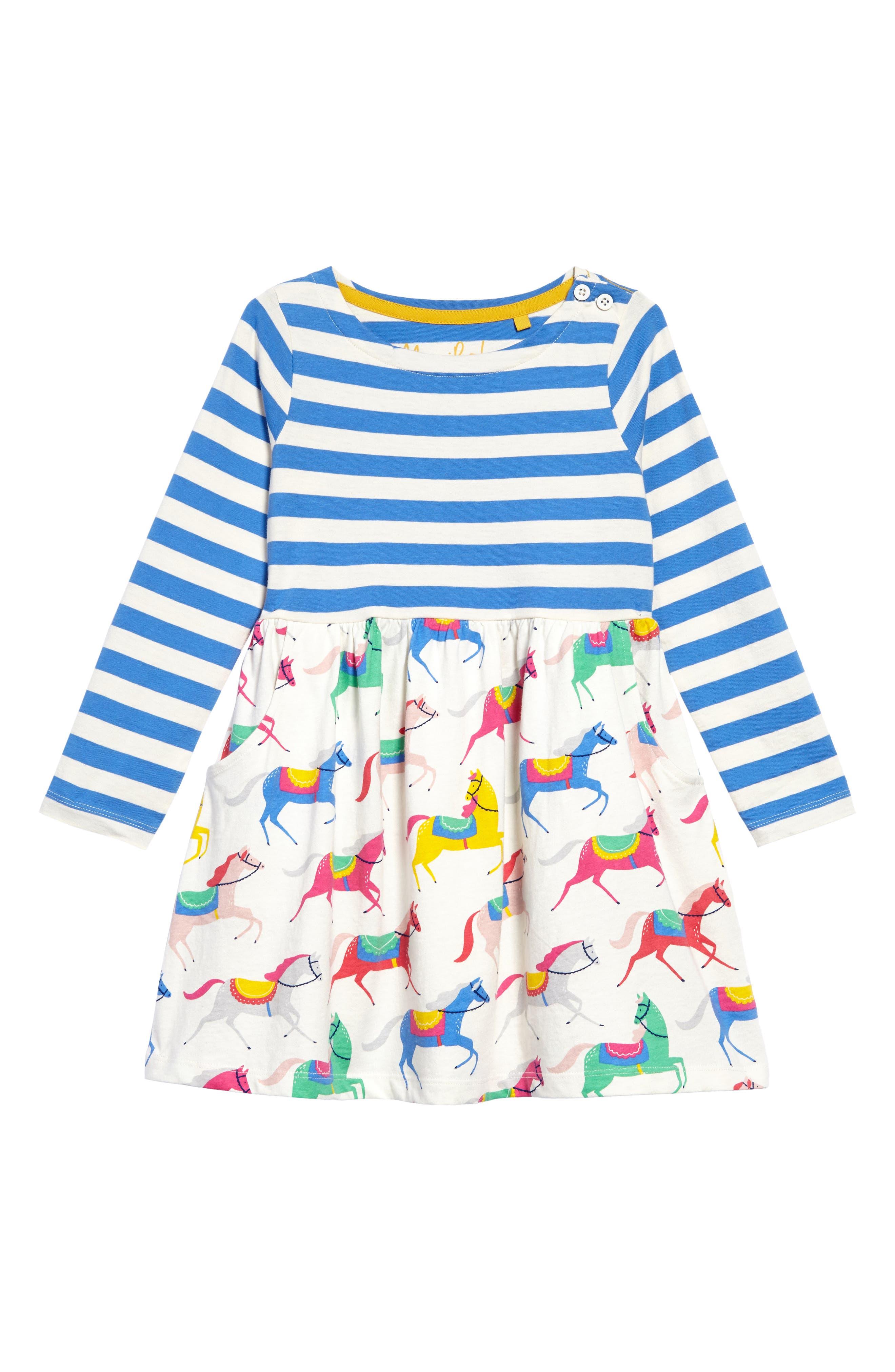 Hotchpotch Jersey Dress,                             Main thumbnail 4, color,